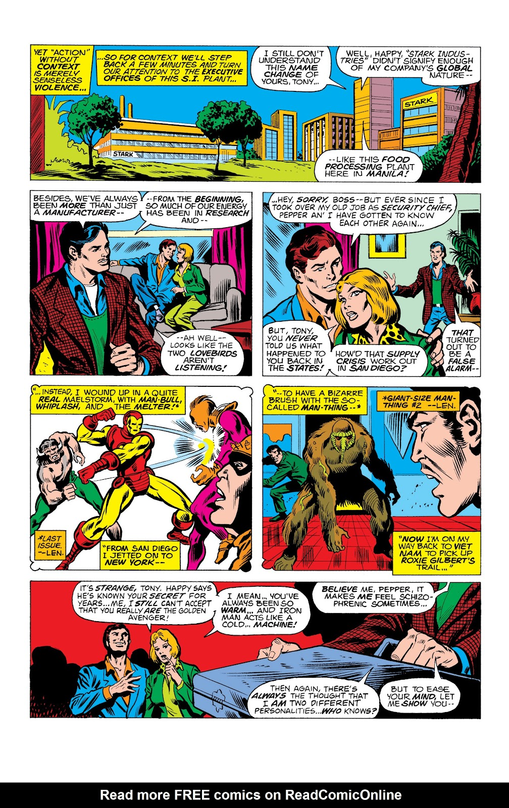 Read online Marvel Masterworks: The Invincible Iron Man comic -  Issue # TPB 10 (Part 1) - 100