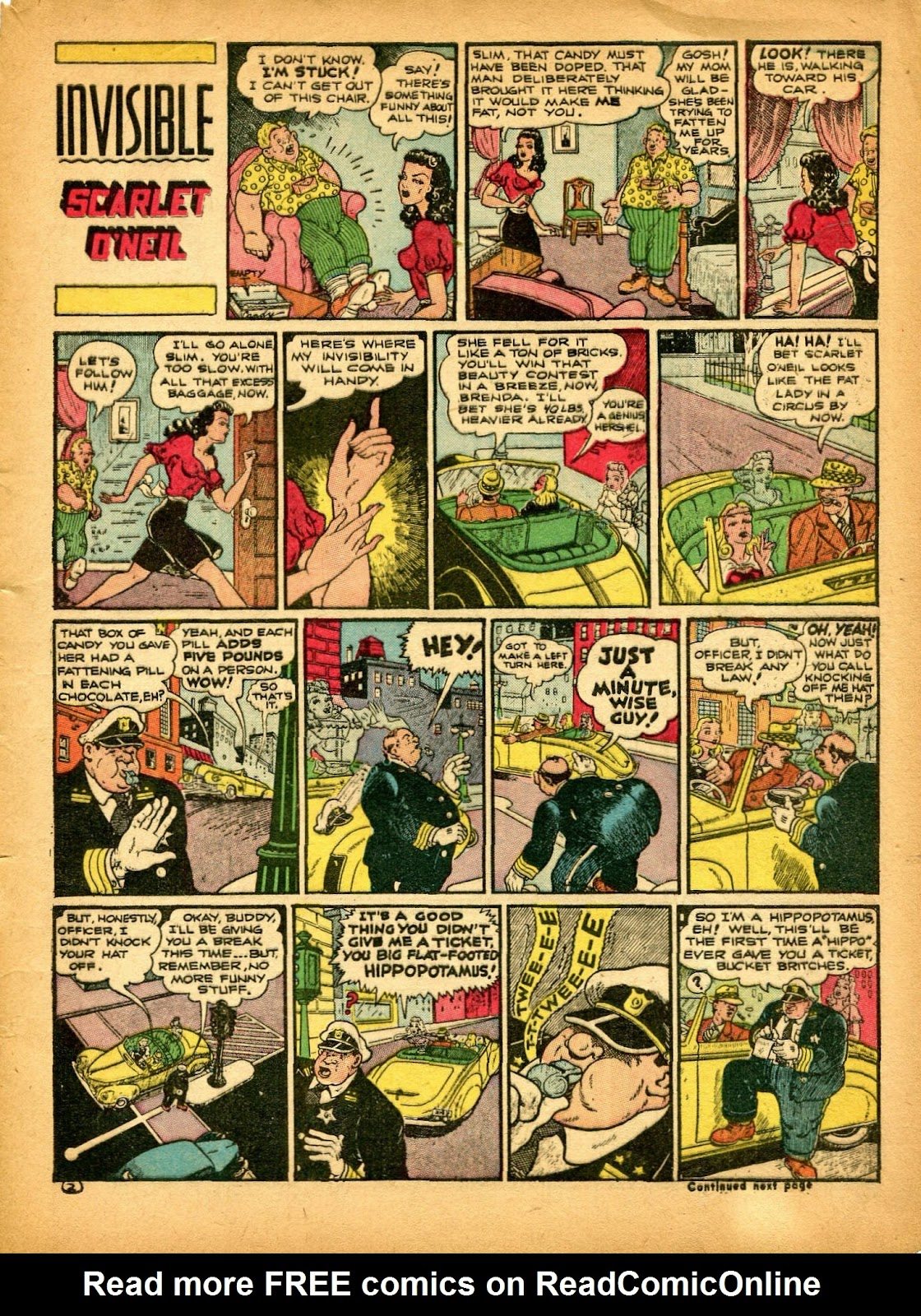 Read online Famous Funnies comic -  Issue #84 - 7