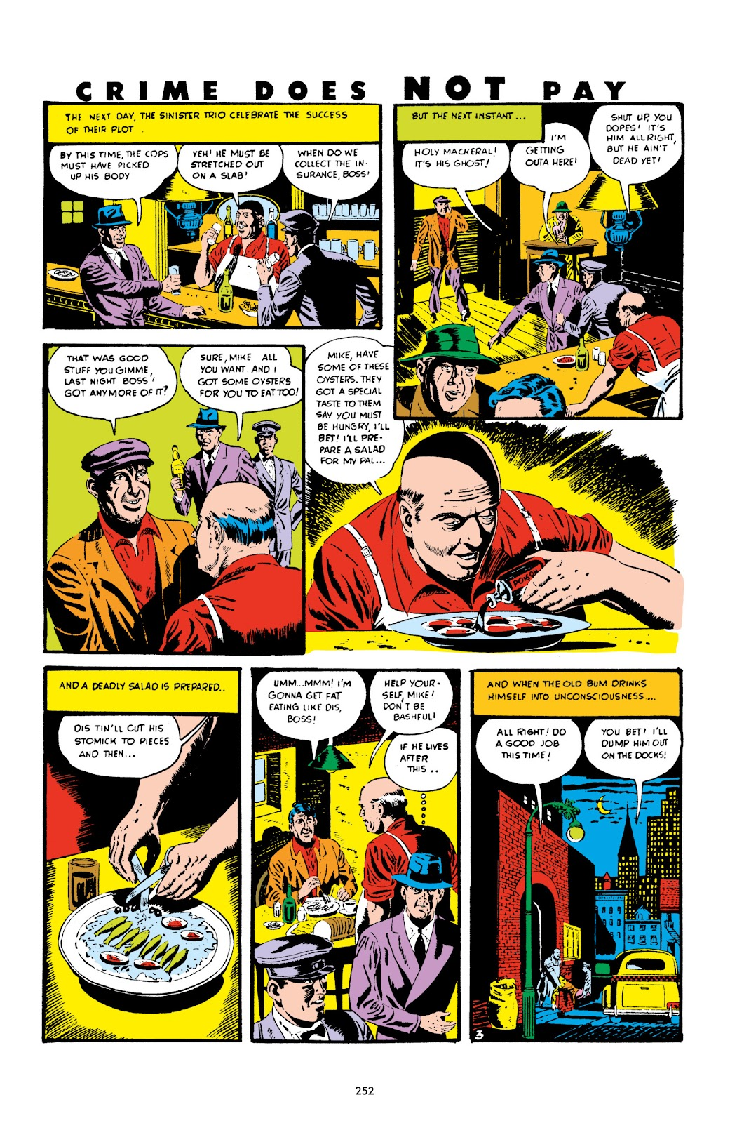 Read online Crime Does Not Pay Archives comic -  Issue # TPB 2 (Part 3) - 52