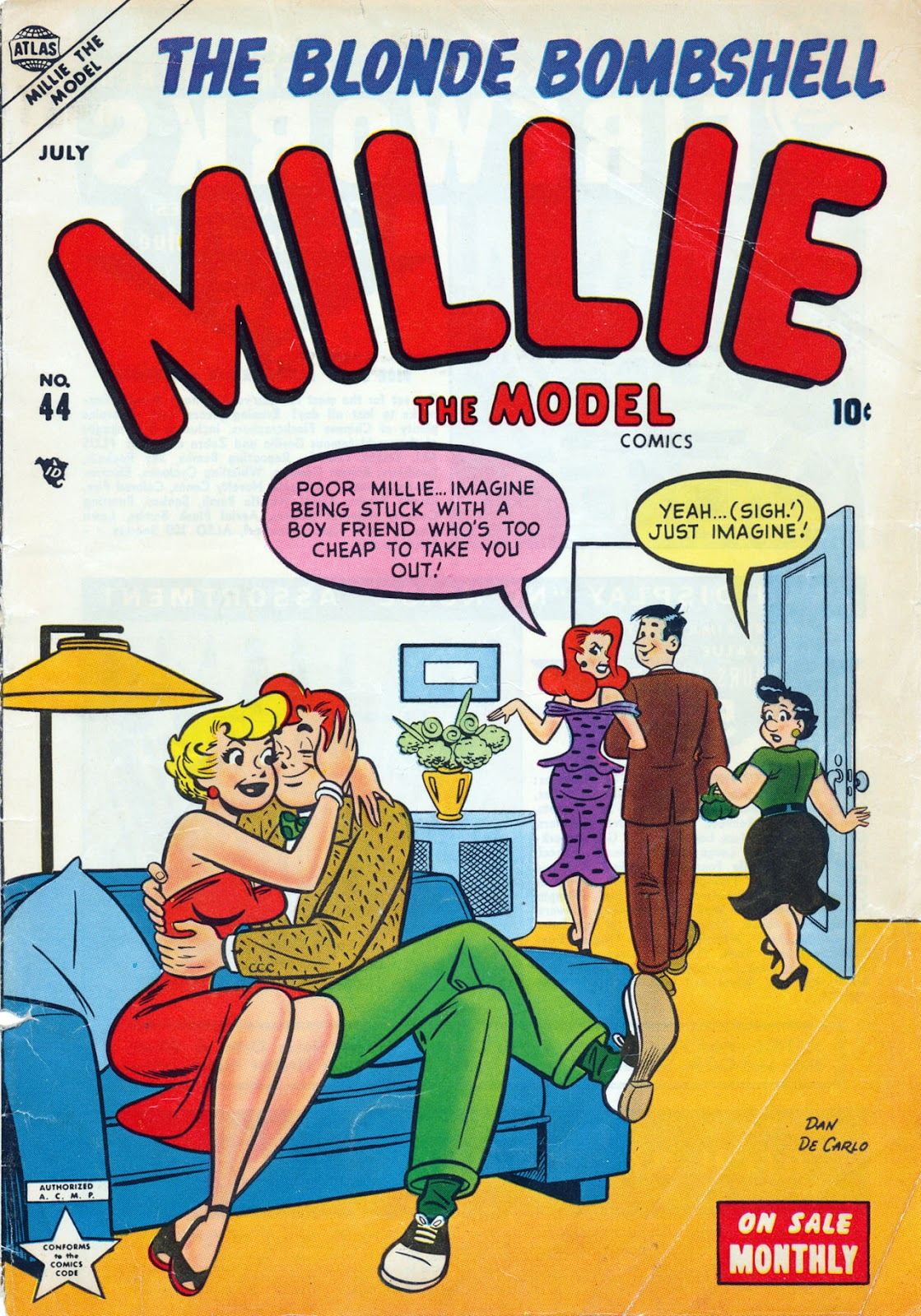 Millie the Model 44 Page 1