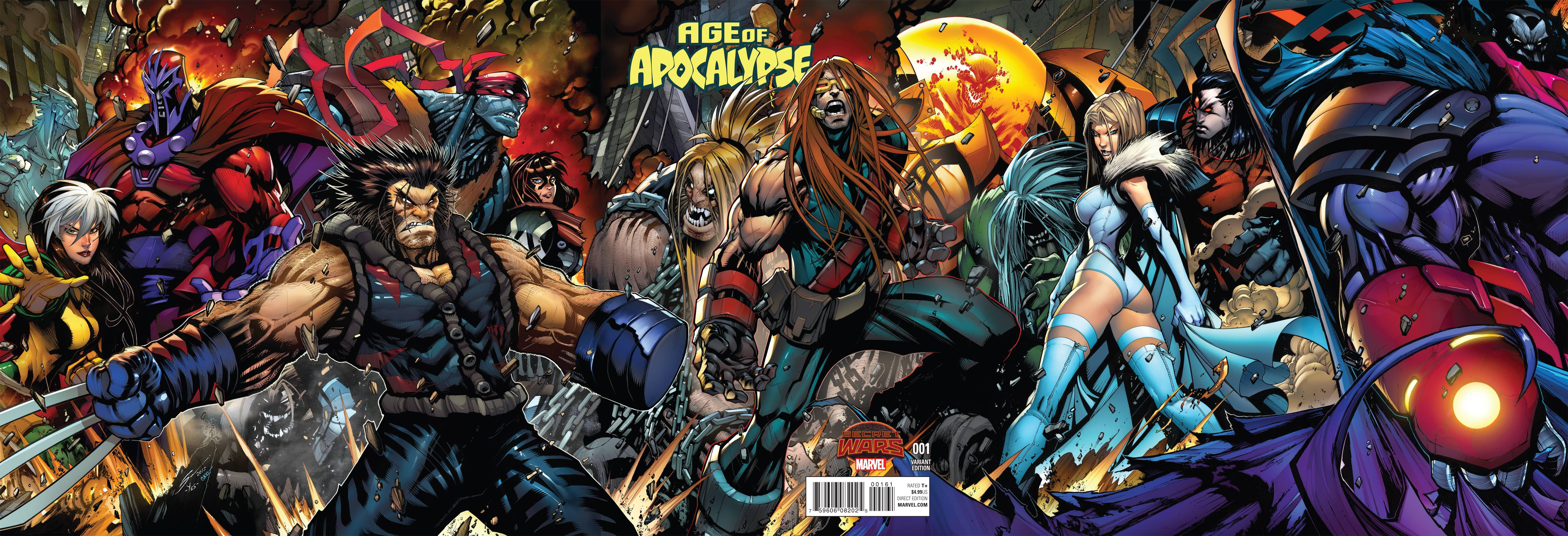 Read online Age of Apocalypse (2015) comic -  Issue #1 - 5