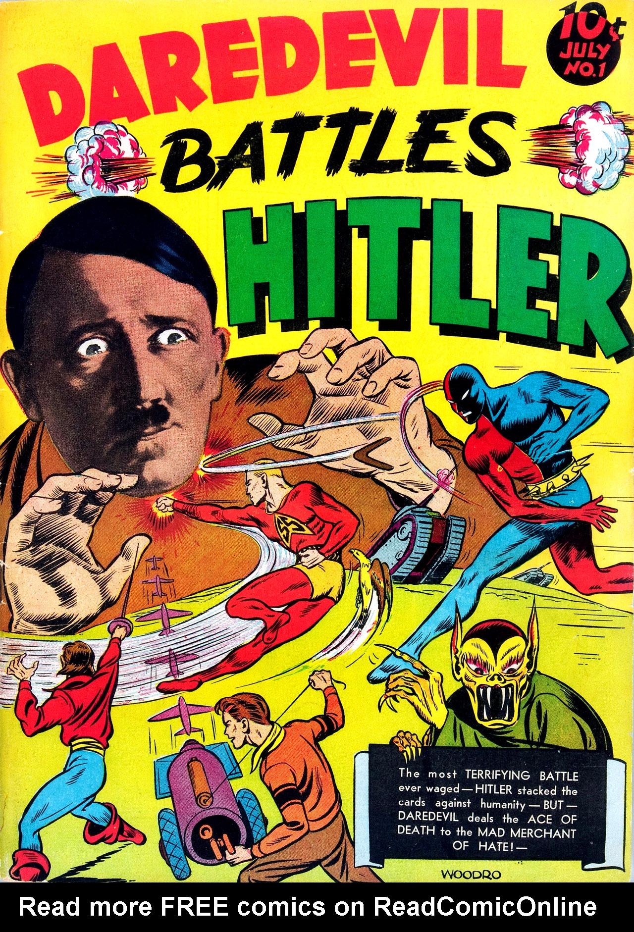 Daredevil (1941) 1 Page 1