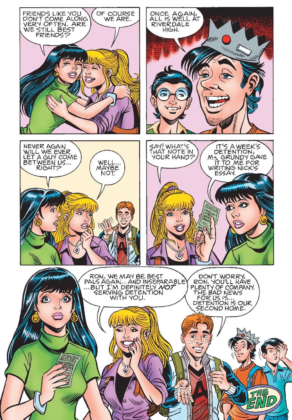 Read online Archie's New Look Series comic -  Issue #1 - 113
