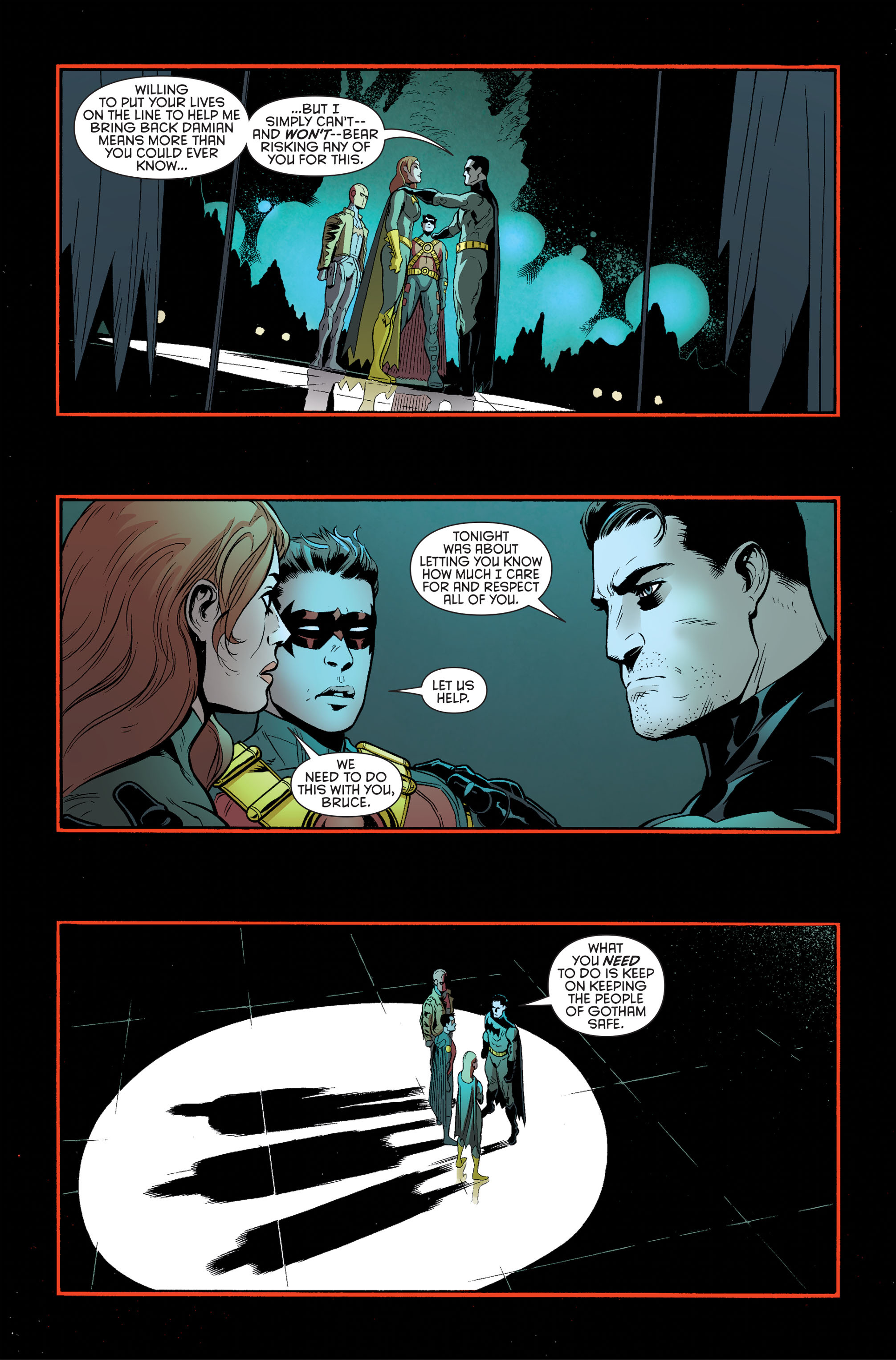Read online Batman and Robin (2011) comic -  Issue #34 - 11