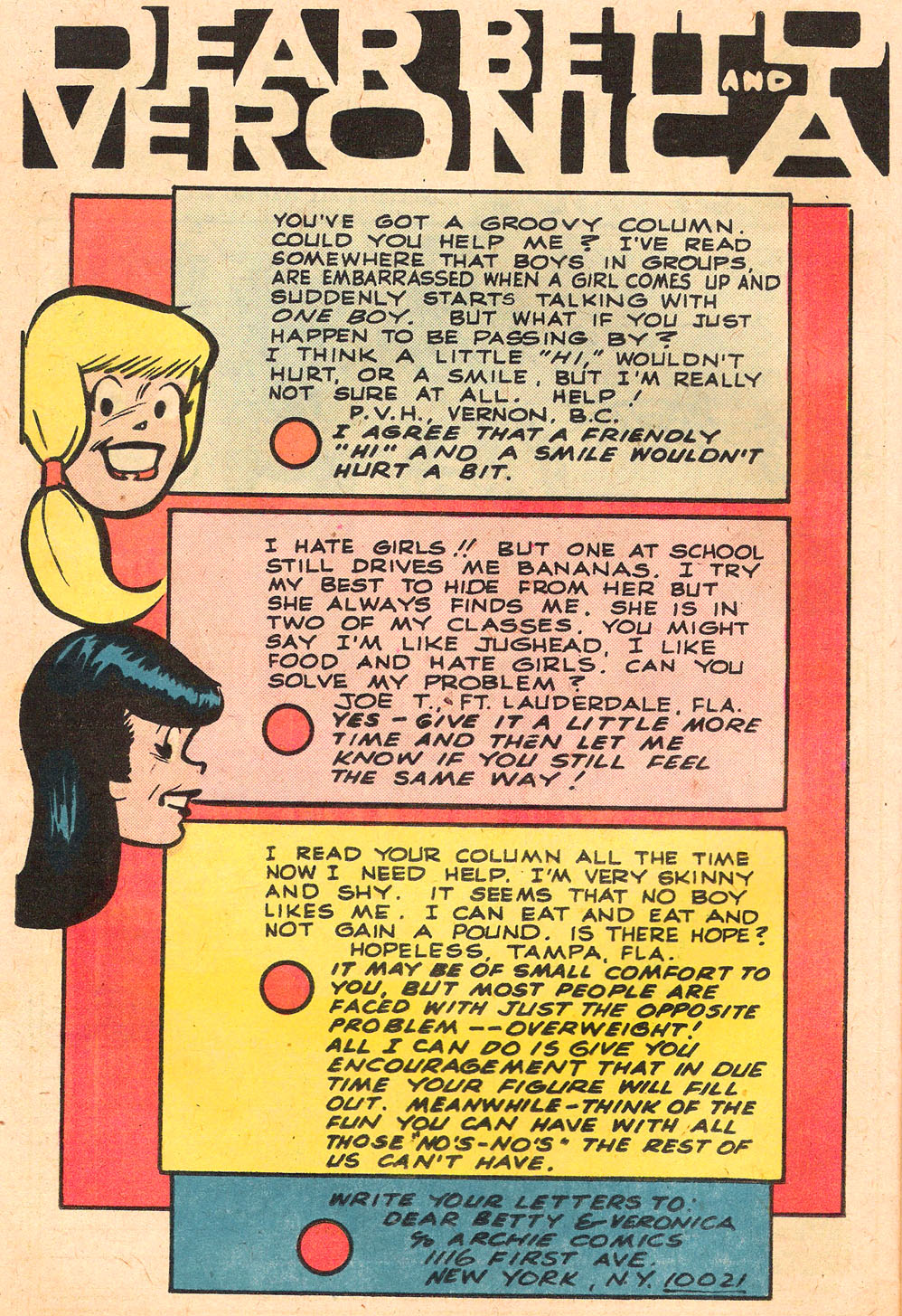 Read online Archie's Girls Betty and Veronica comic -  Issue #262 - 26
