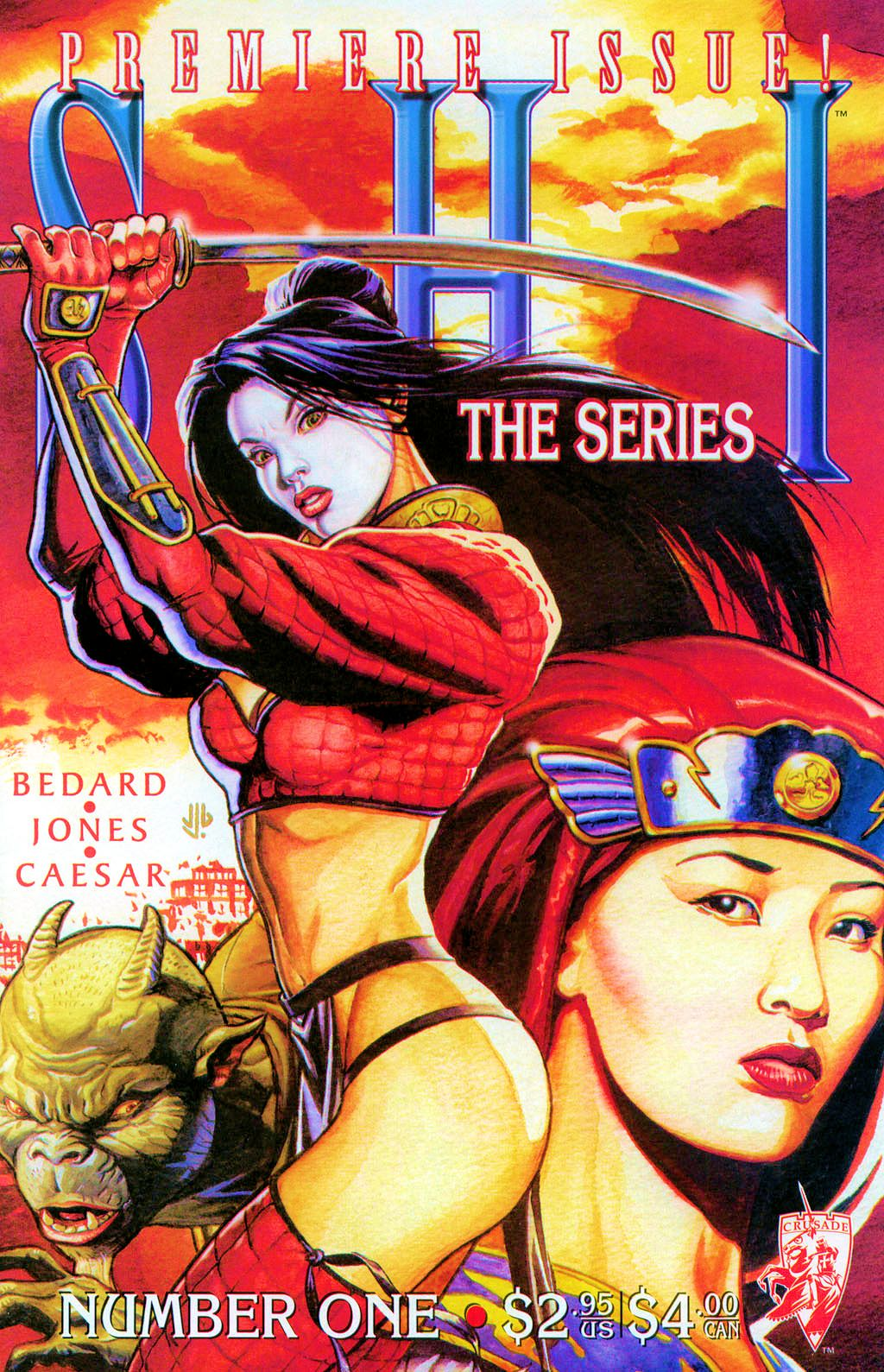 Read online Shi: The Series comic -  Issue #1 - 1