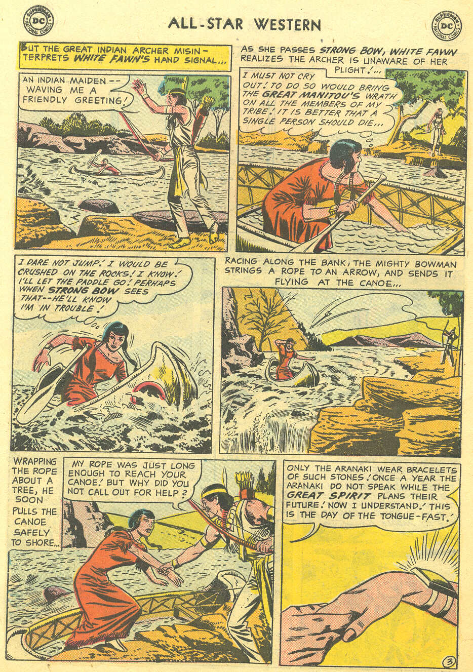 Read online All-Star Western (1951) comic -  Issue #95 - 30