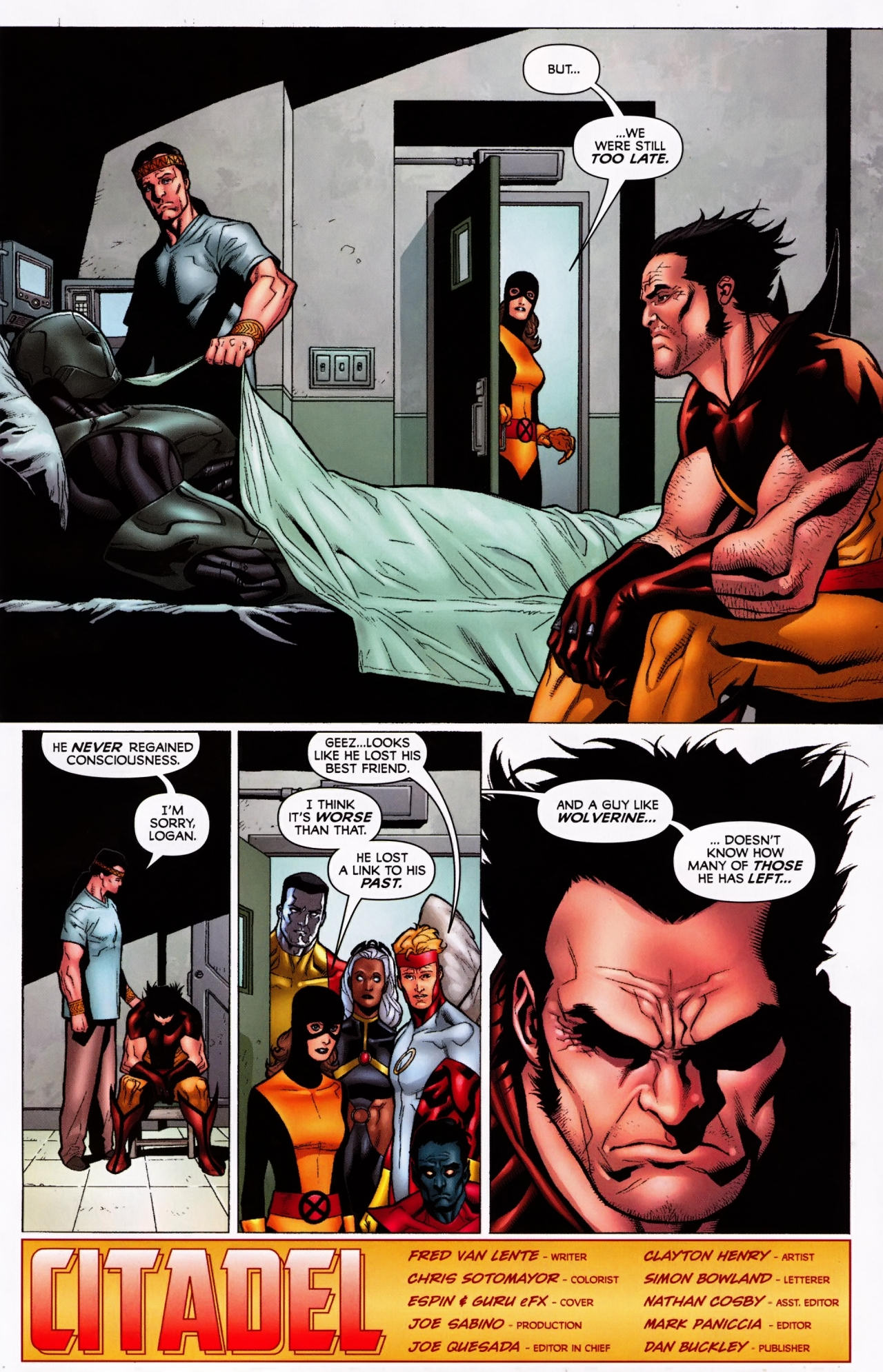 Read online Wolverine: First Class comic -  Issue #5 - 23