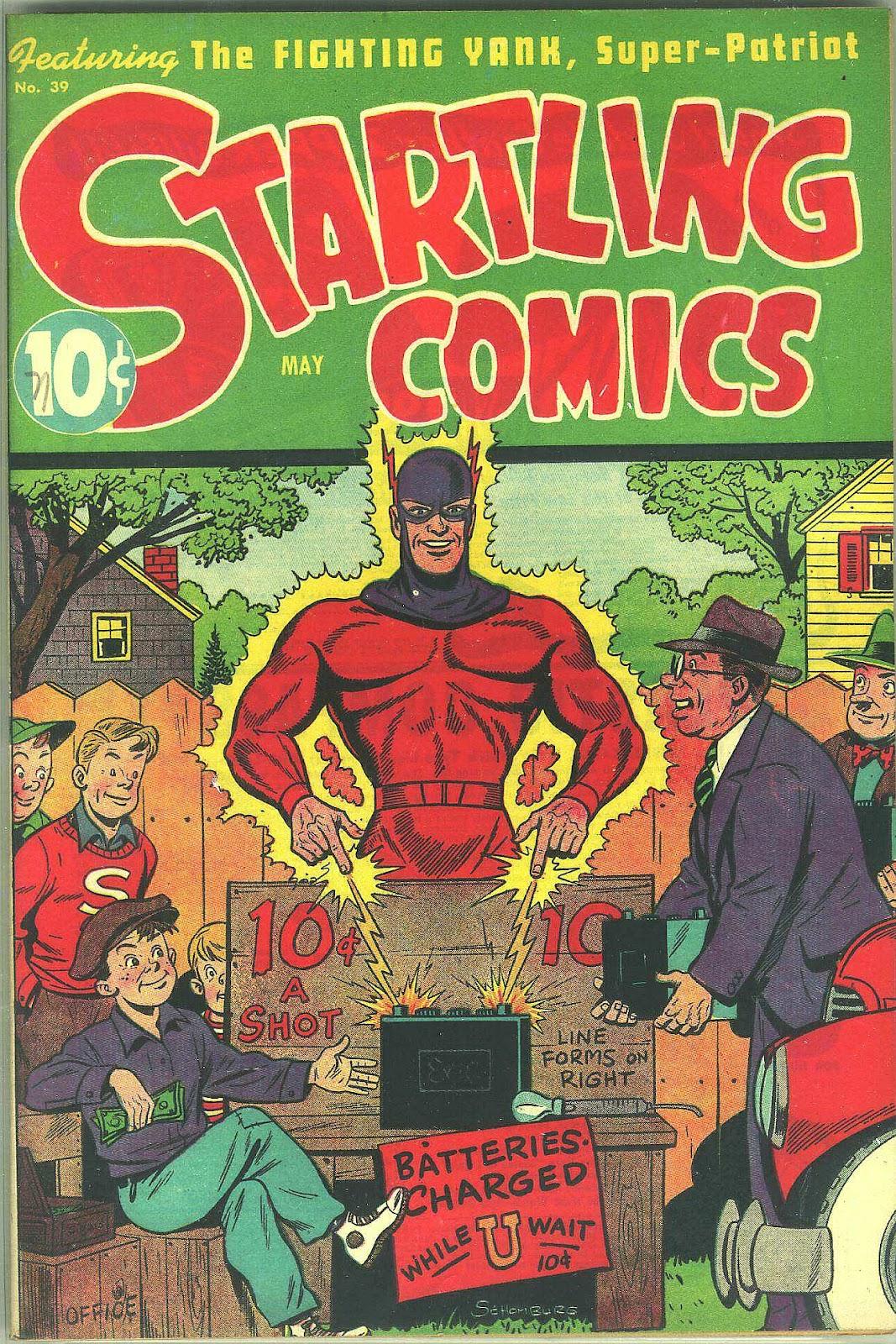 Startling Comics 39 Page 1