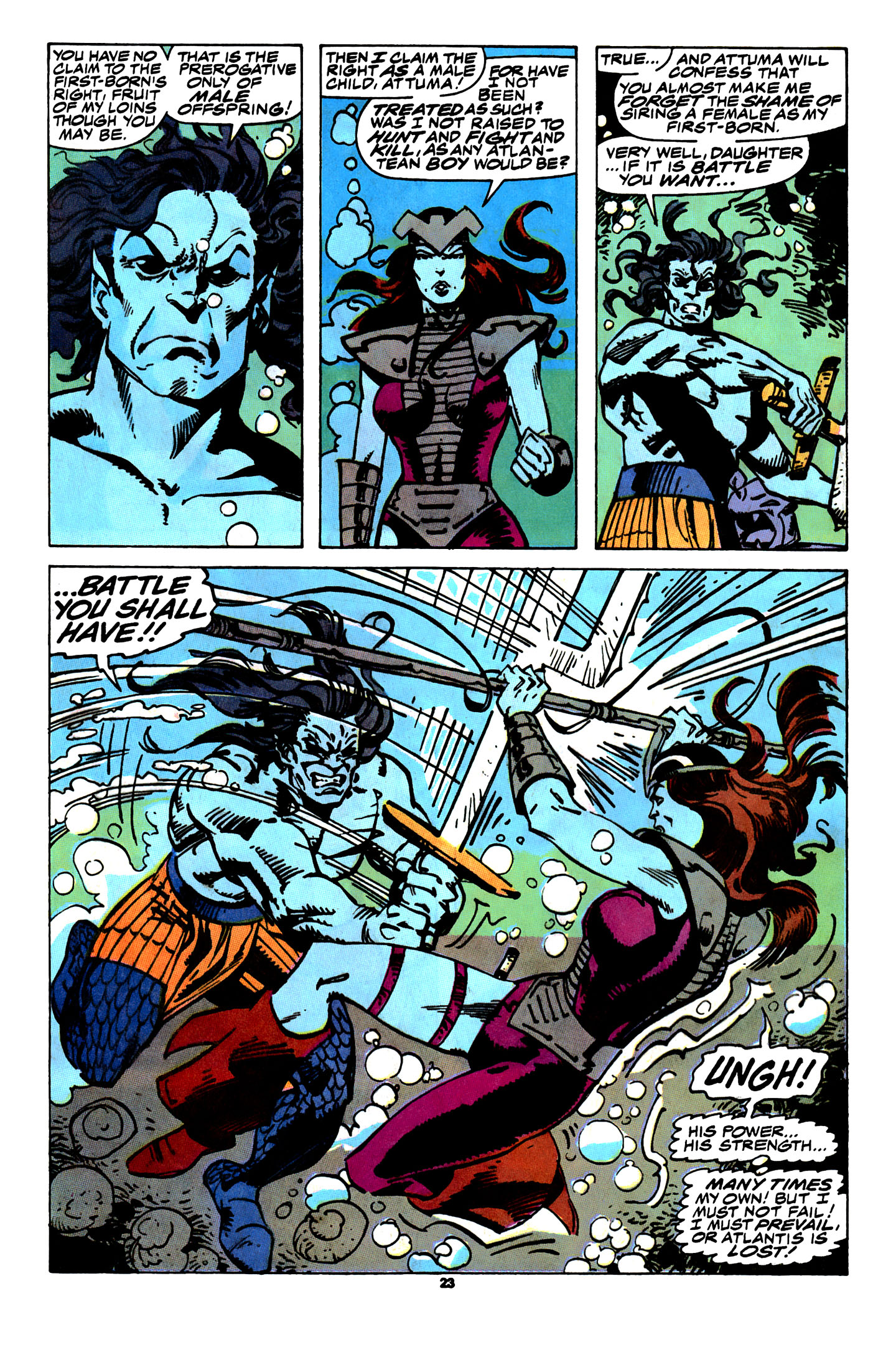 Read online X-Factor (1986) comic -  Issue # _ Annual 4 - 21