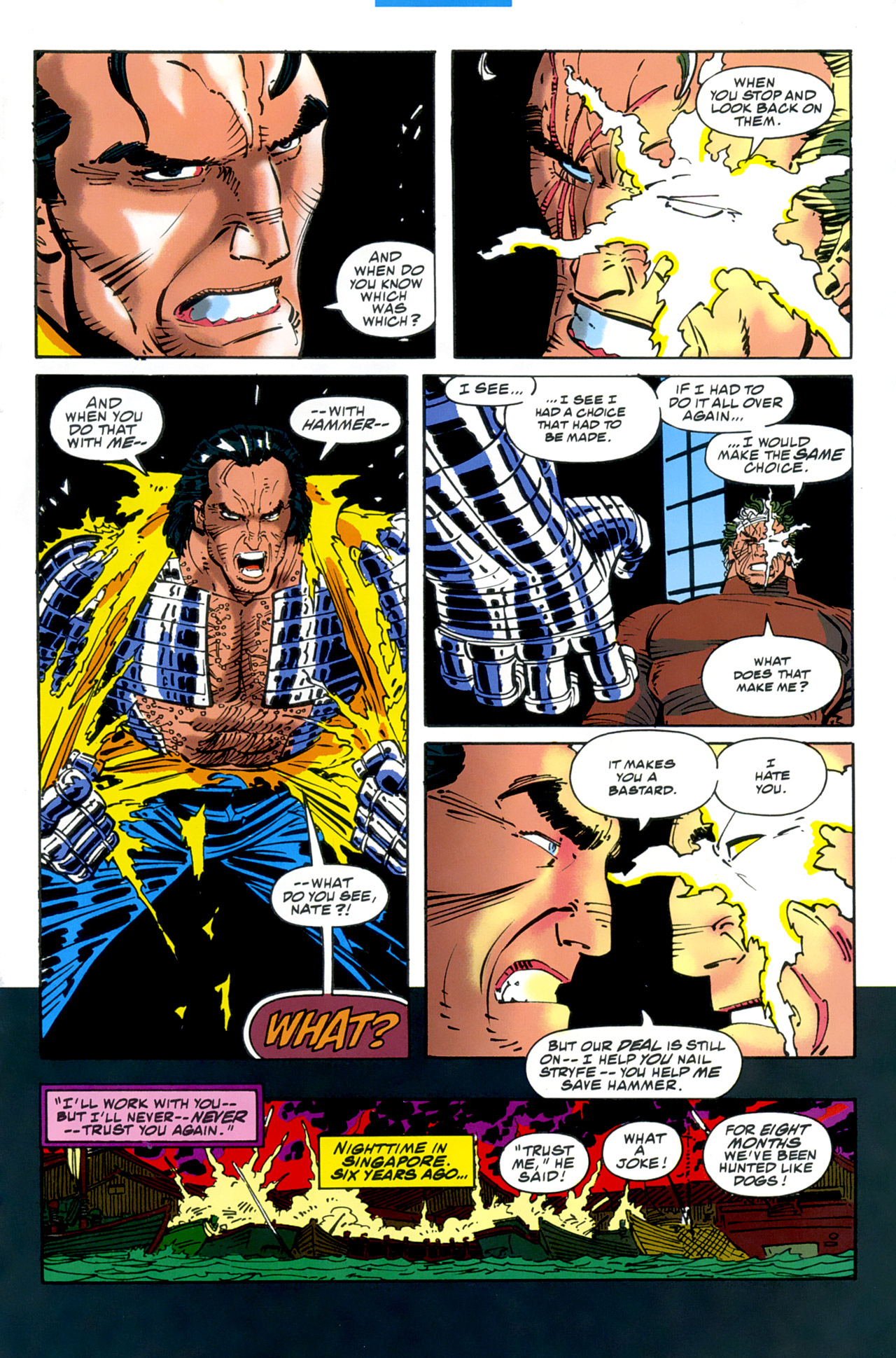 Read online Cable - Blood and Metal comic -  Issue #2 - 17