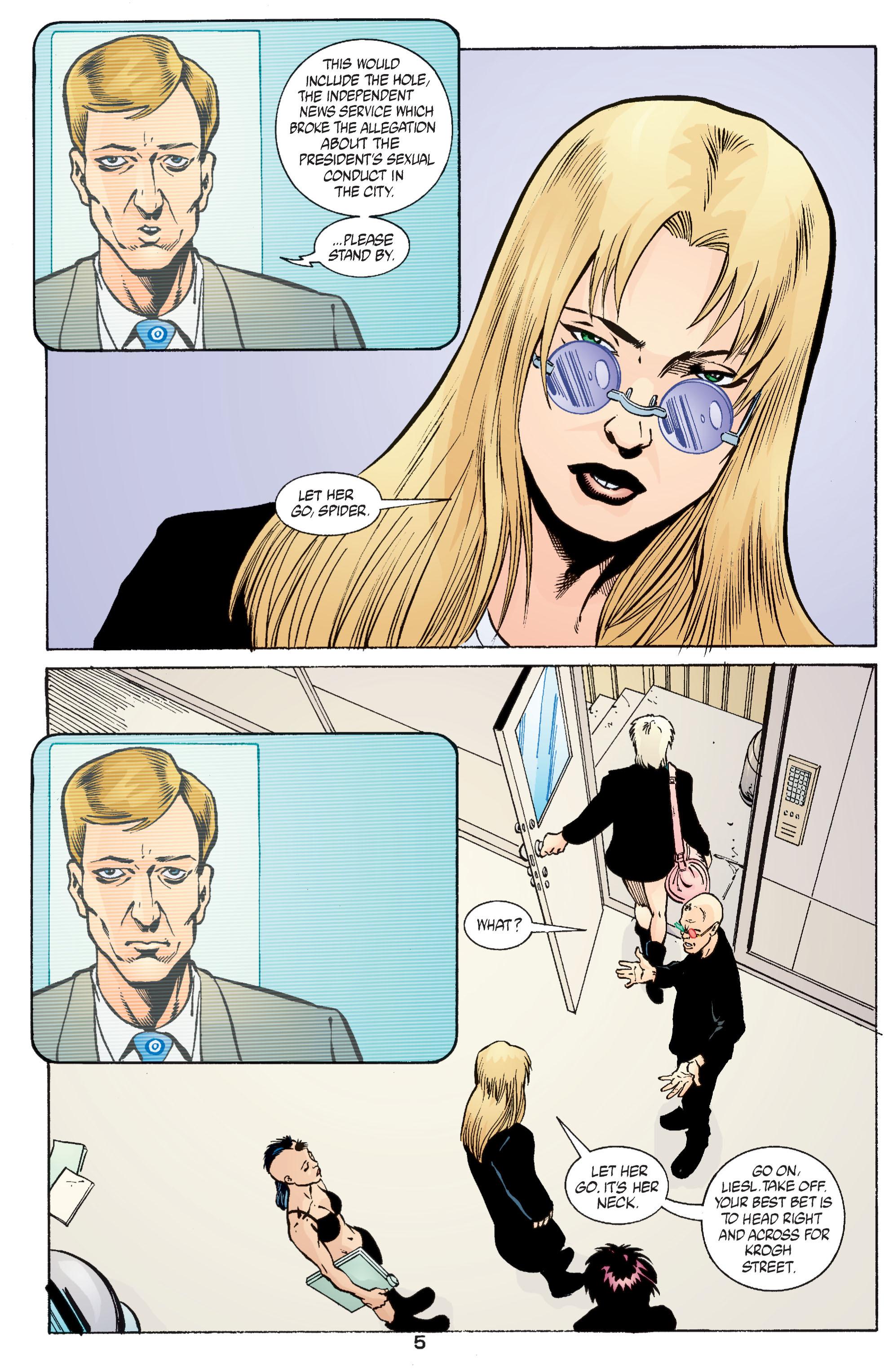 Read online Transmetropolitan comic -  Issue #55 - 6