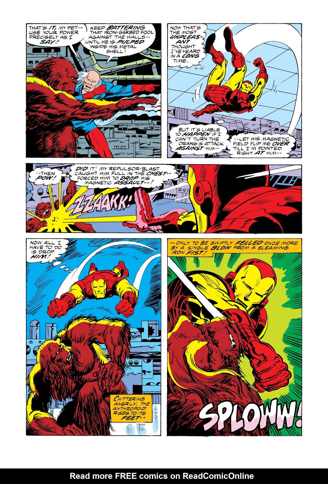 Read online Marvel Masterworks: The Invincible Iron Man comic -  Issue # TPB 11 (Part 1) - 40
