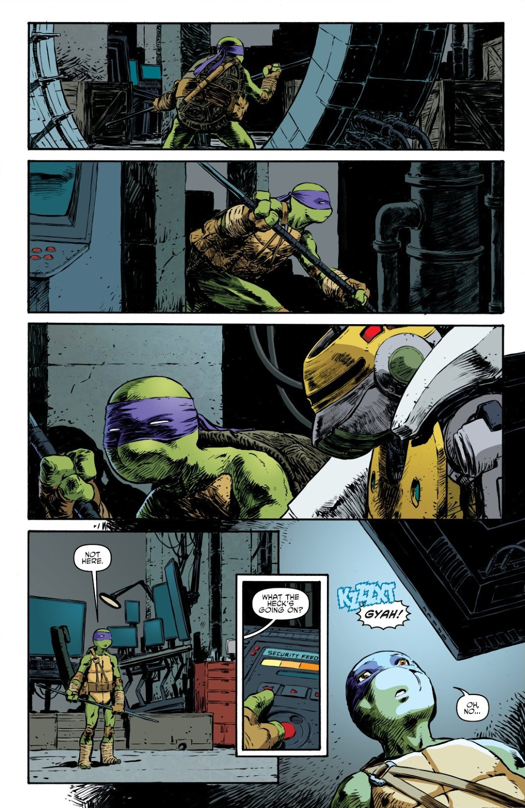Read online Teenage Mutant Ninja Turtles: The IDW Collection comic -  Issue # TPB 7 (Part 3) - 62