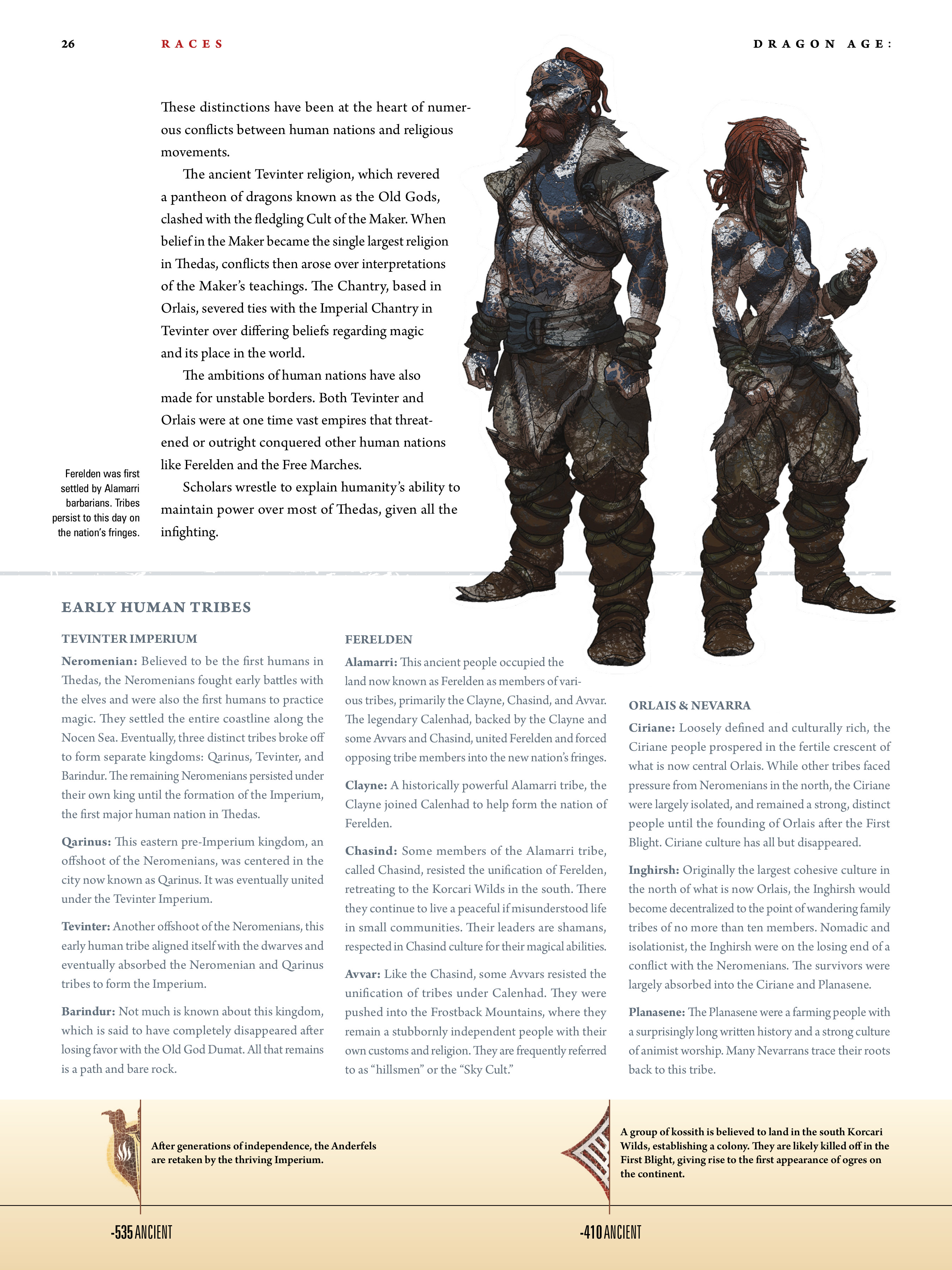 Read online Dragon Age: The World of Thedas comic -  Issue # TPB 1 - 21