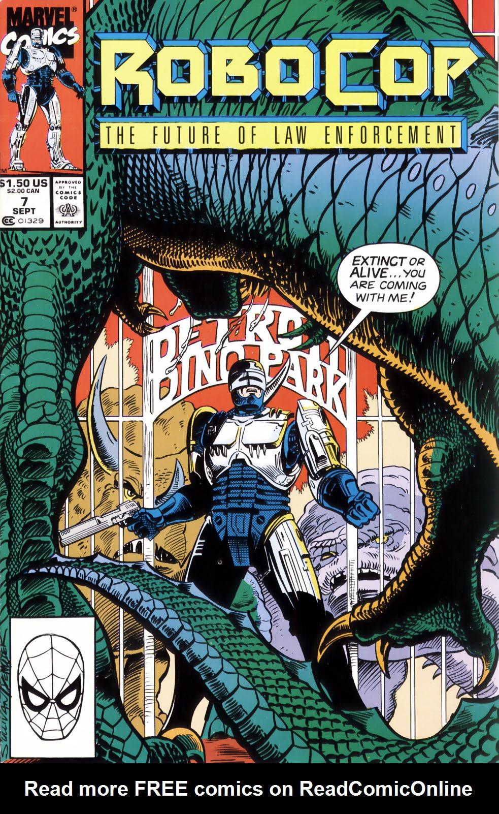 Read online Robocop (1990) comic -  Issue #7 - 1