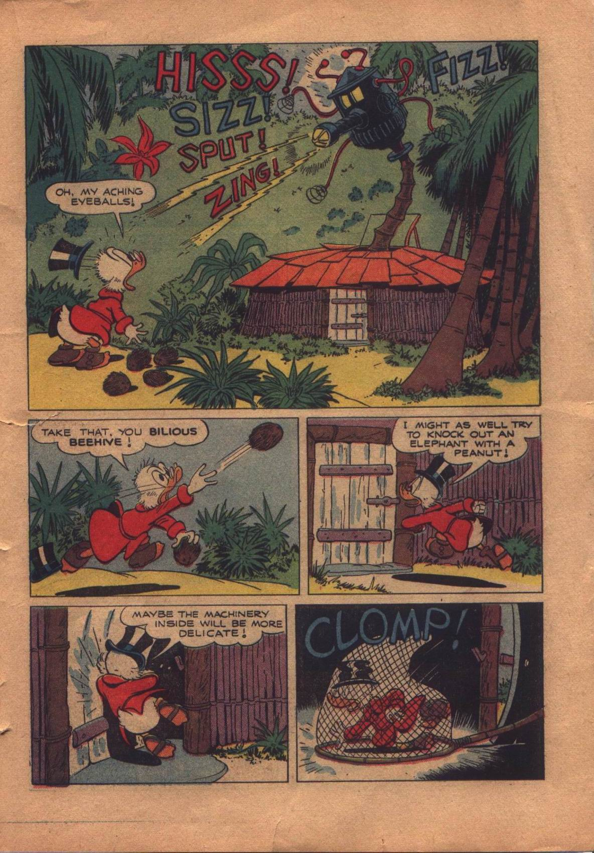 Read online Uncle Scrooge (1953) comic -  Issue #8 - 21