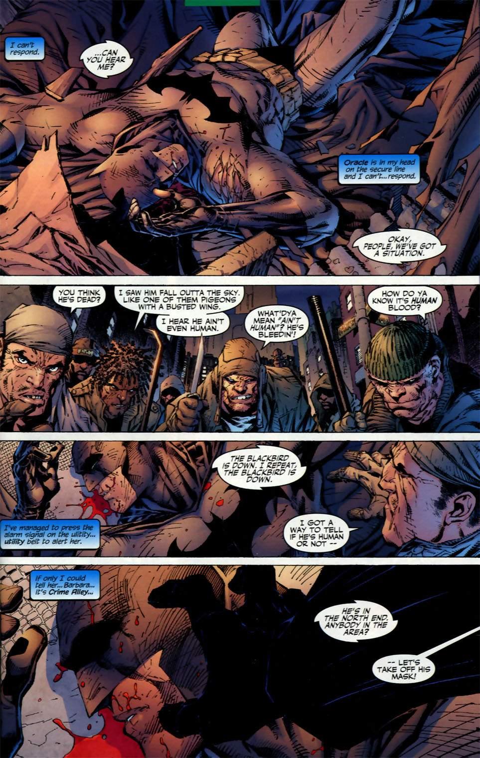 Read online Batman: Hush comic -  Issue #2 - 2