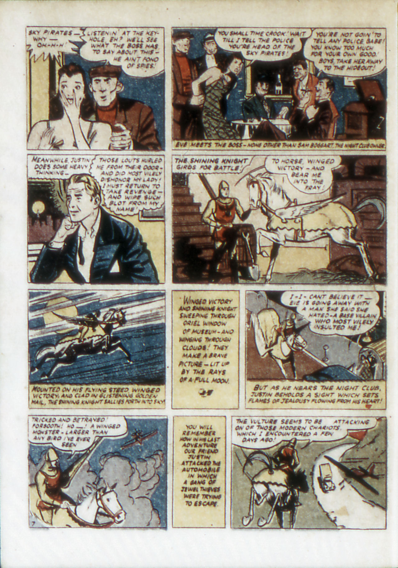 Read online Adventure Comics (1938) comic -  Issue #67 - 23