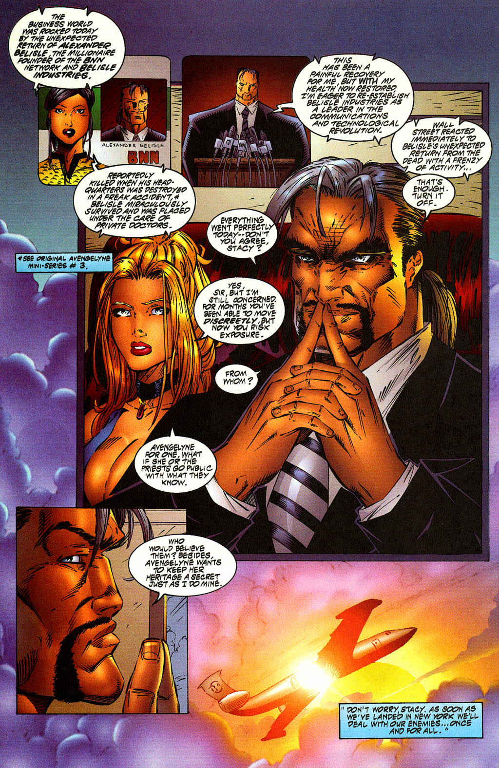 Read online Avengelyne (1996) comic -  Issue #10 - 9