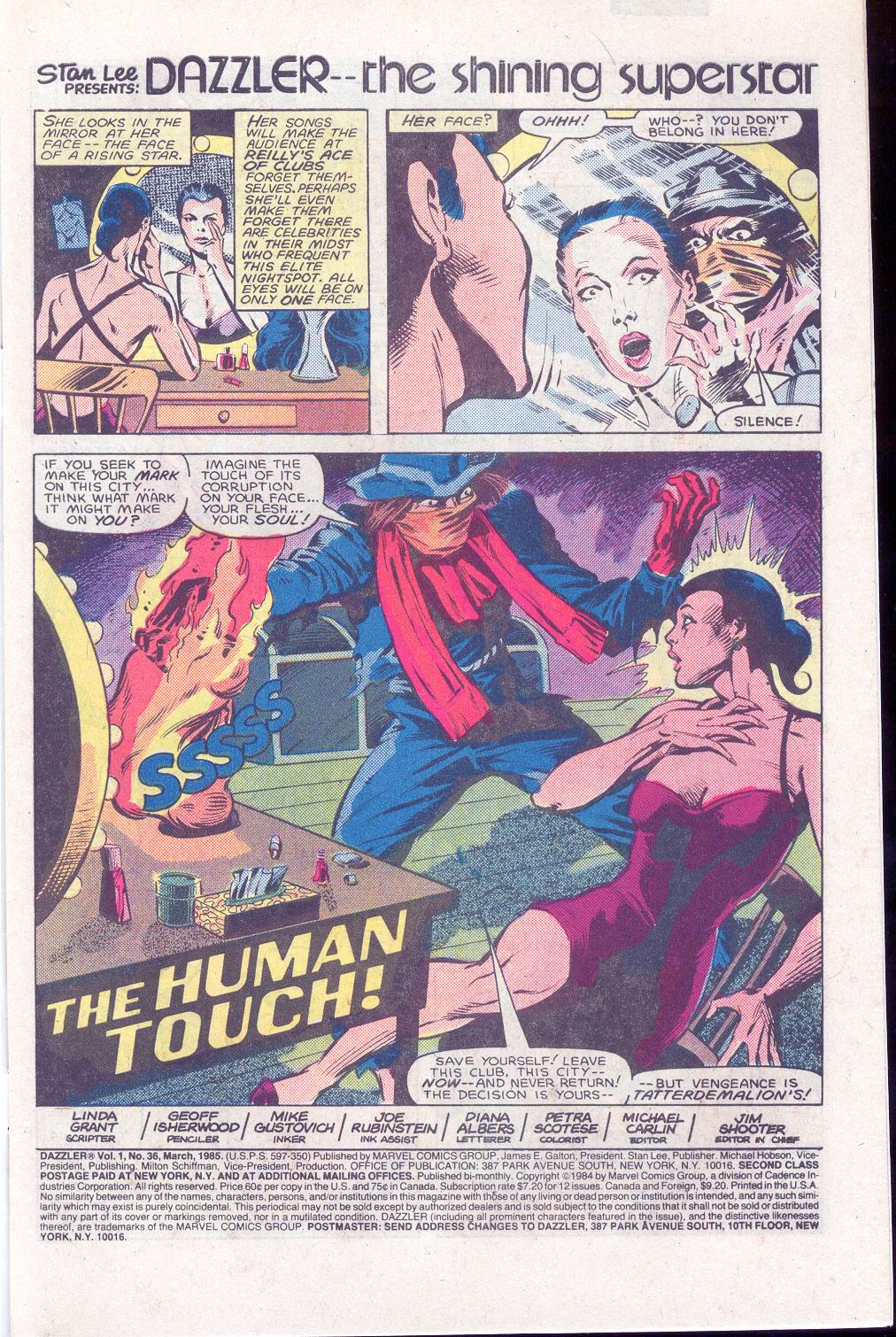 Dazzler (1981) 36 Page 2