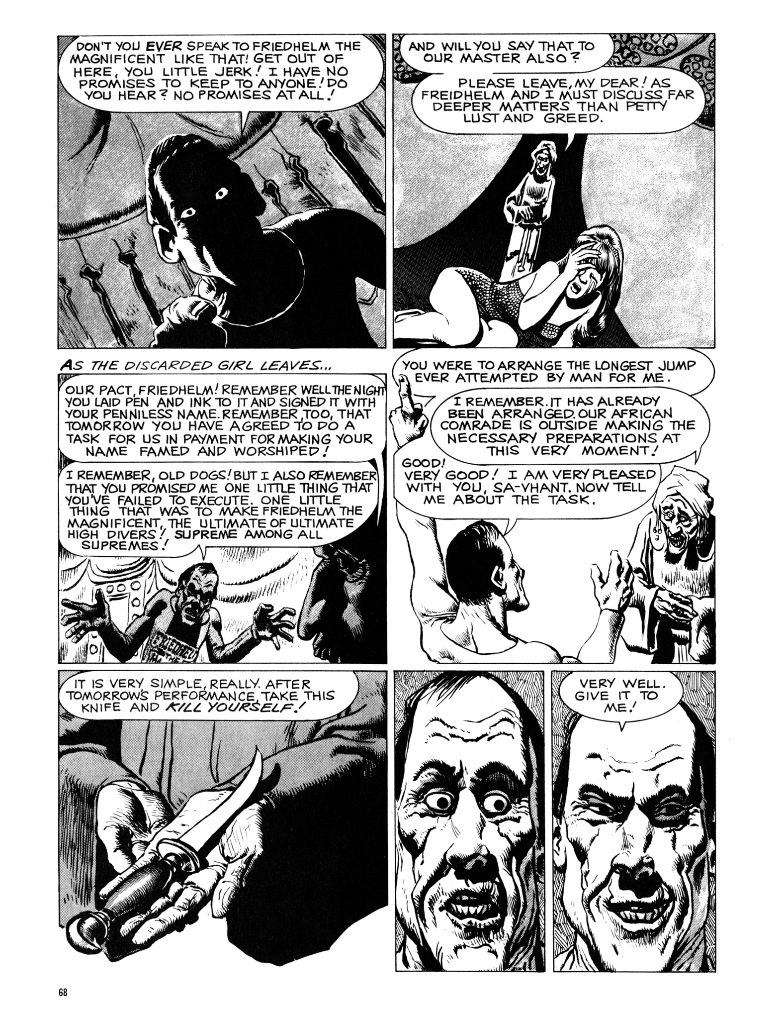Read online Eerie Archives comic -  Issue # TPB 18 - 69