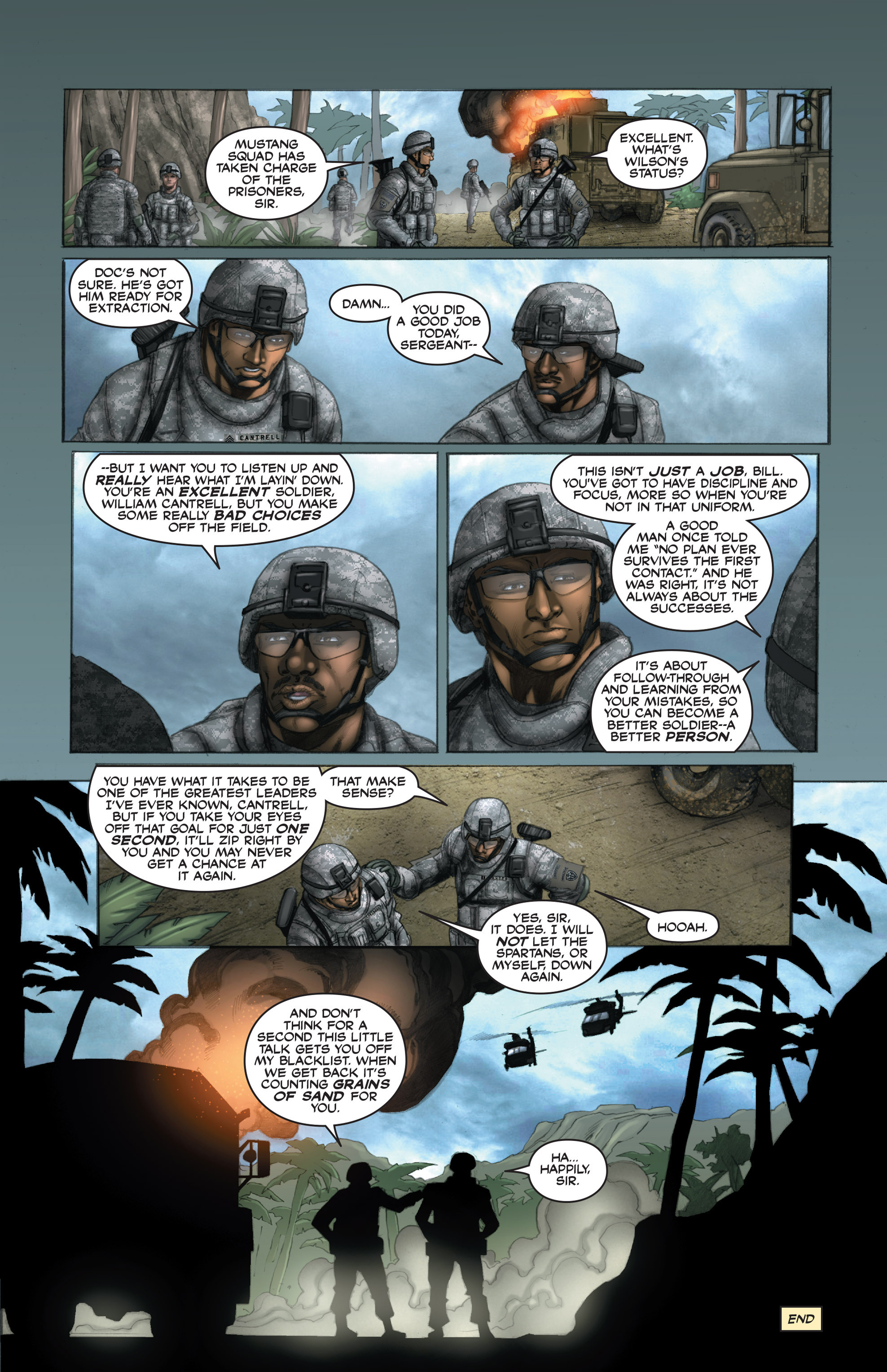 Read online America's Army comic -  Issue #15 - 24
