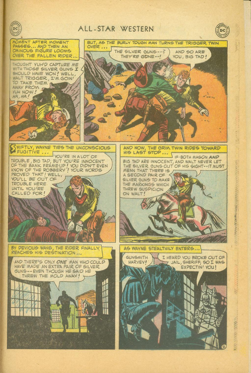 Read online All-Star Western (1951) comic -  Issue #61 - 39