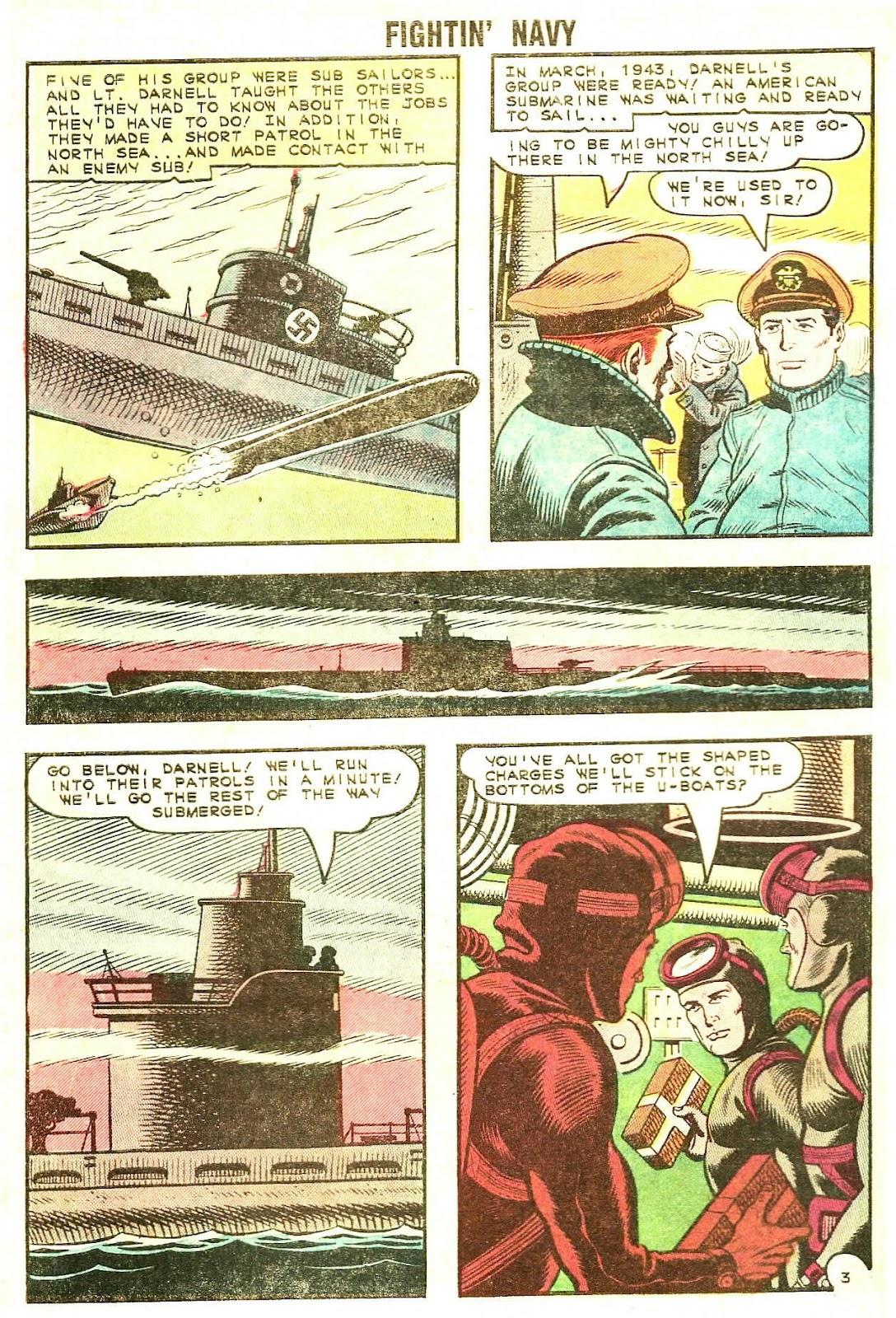 Read online Fightin' Navy comic -  Issue #120 - 28