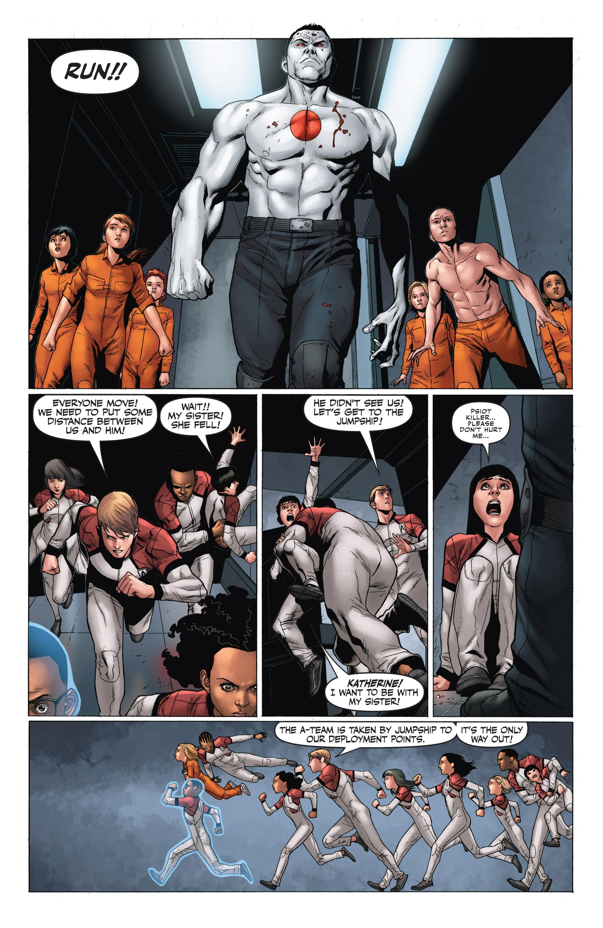Read online Armor Hunters: Harbinger comic -  Issue # TPB - 99