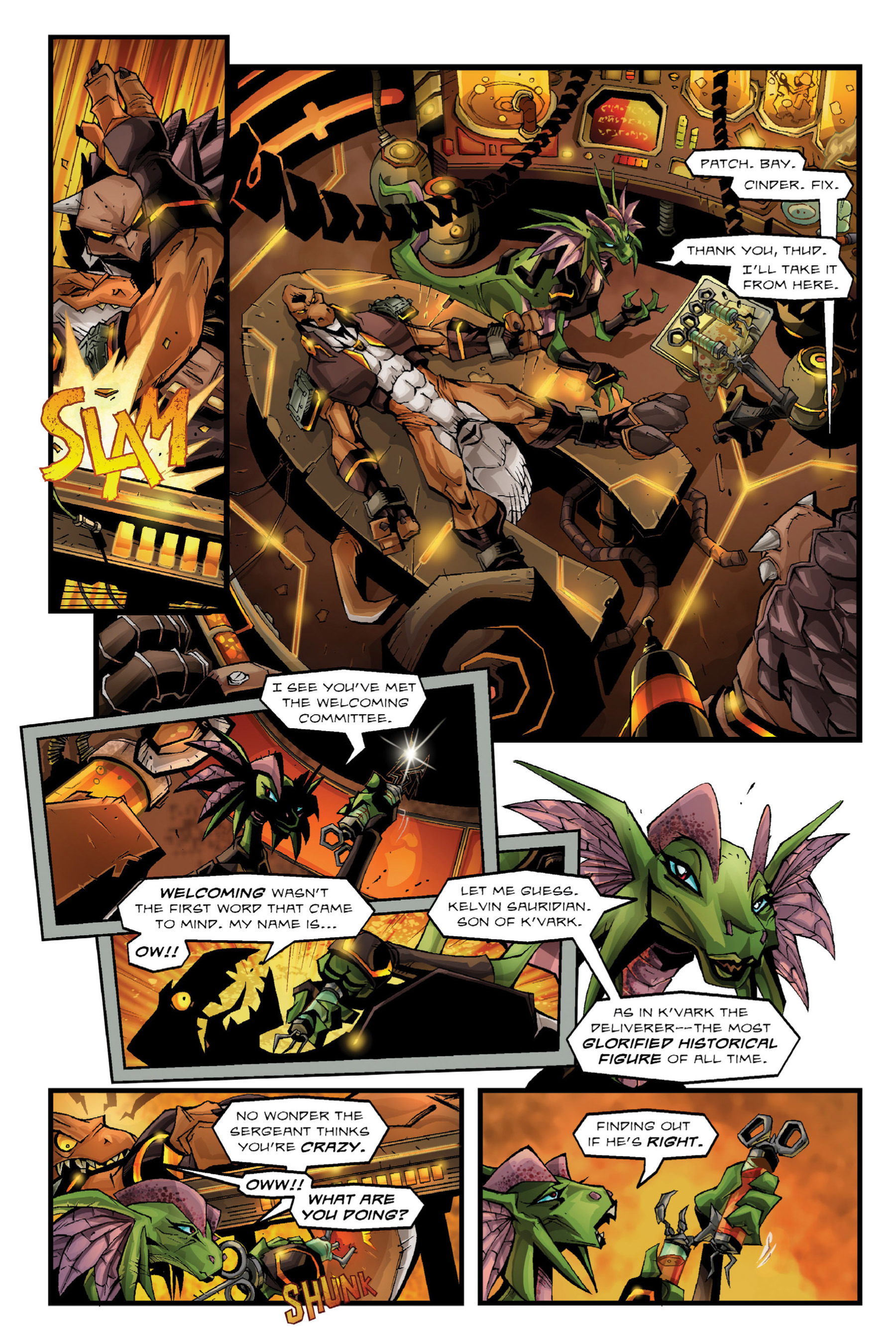 Read online Rexodus comic -  Issue # Full - 37