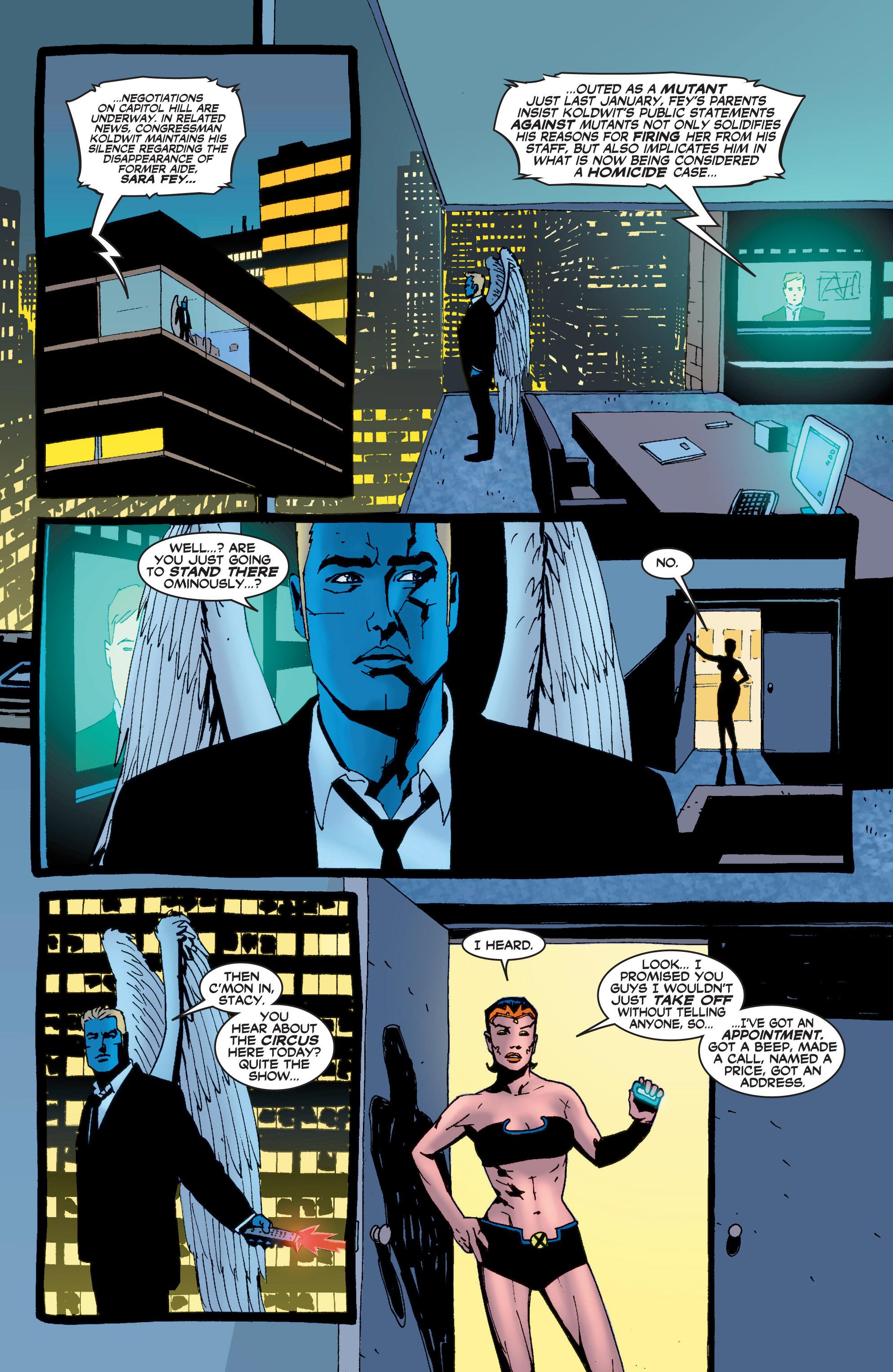Read online Uncanny X-Men (1963) comic -  Issue #408 - 6