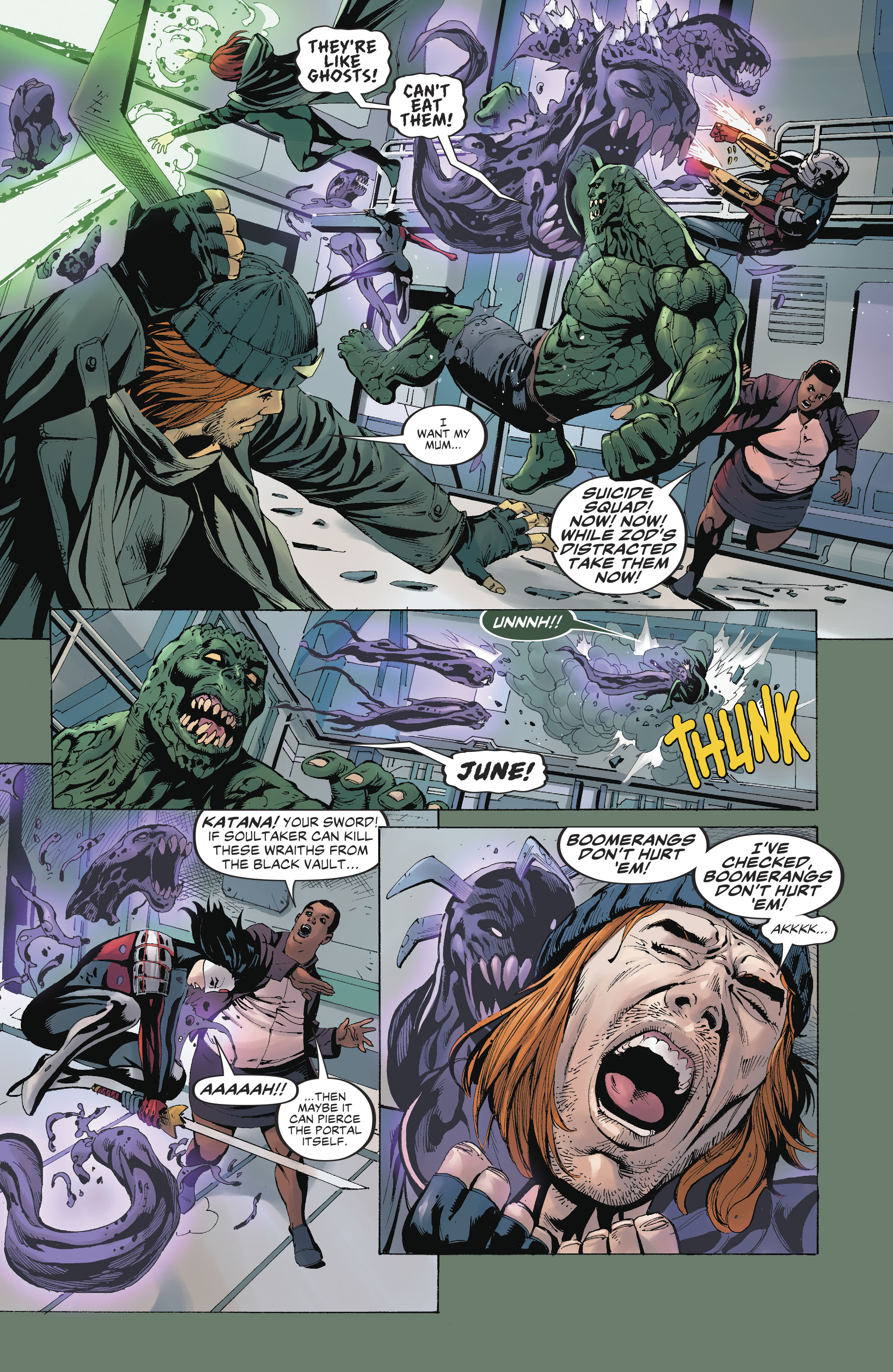 Read online Suicide Squad (2016) comic -  Issue #19 - 11