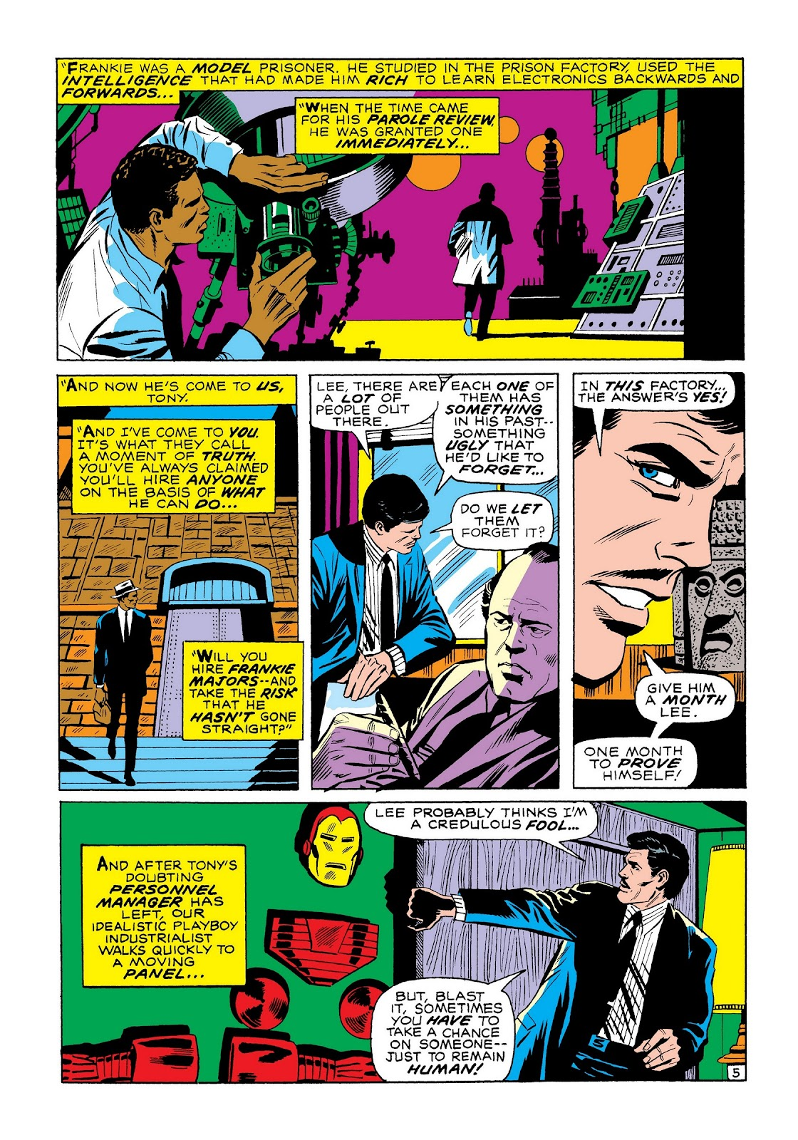Read online Marvel Masterworks: The Invincible Iron Man comic -  Issue # TPB 7 (Part 3) - 74