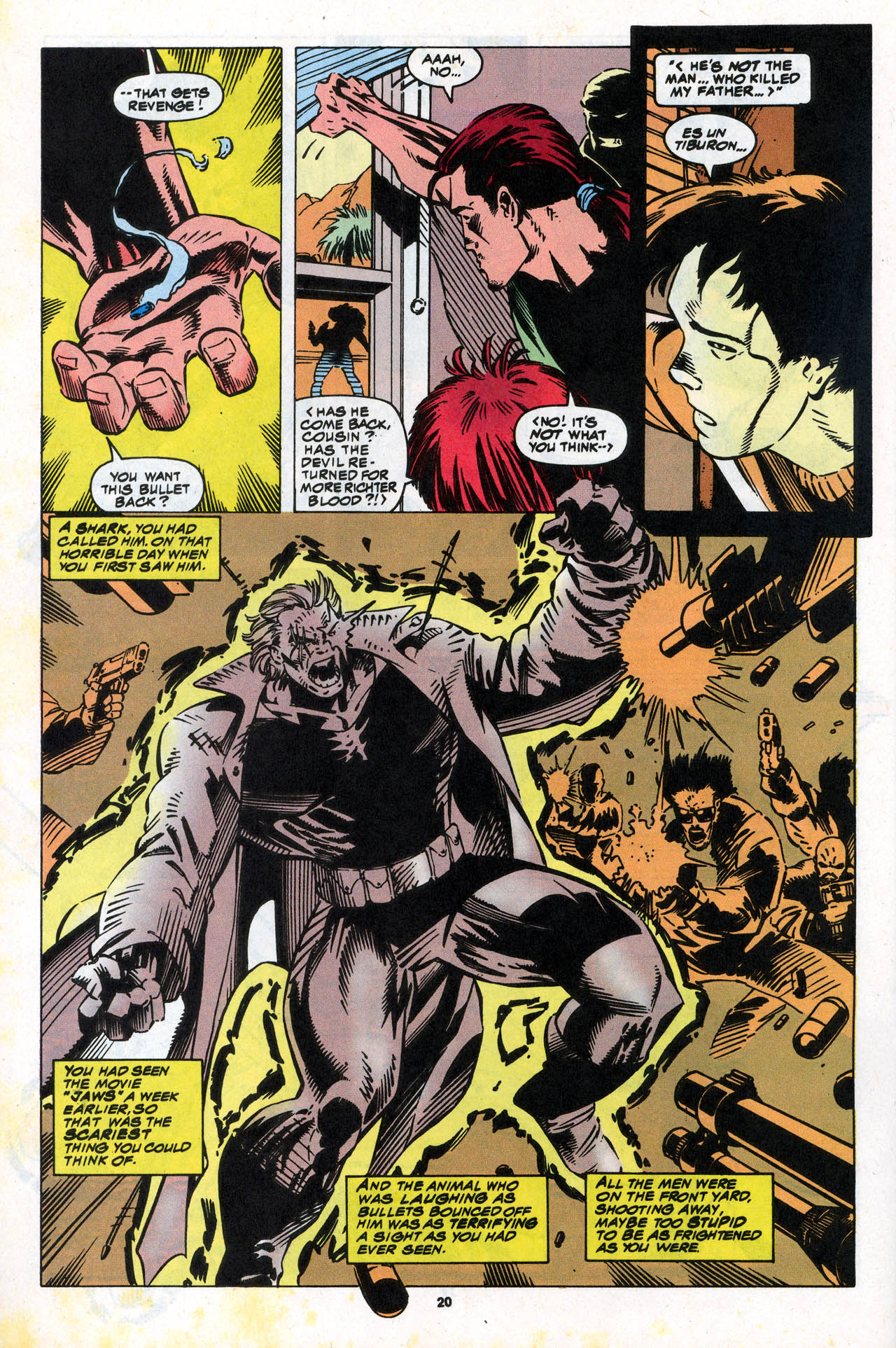 Read online X-Force (1991) comic -  Issue #34 - 21