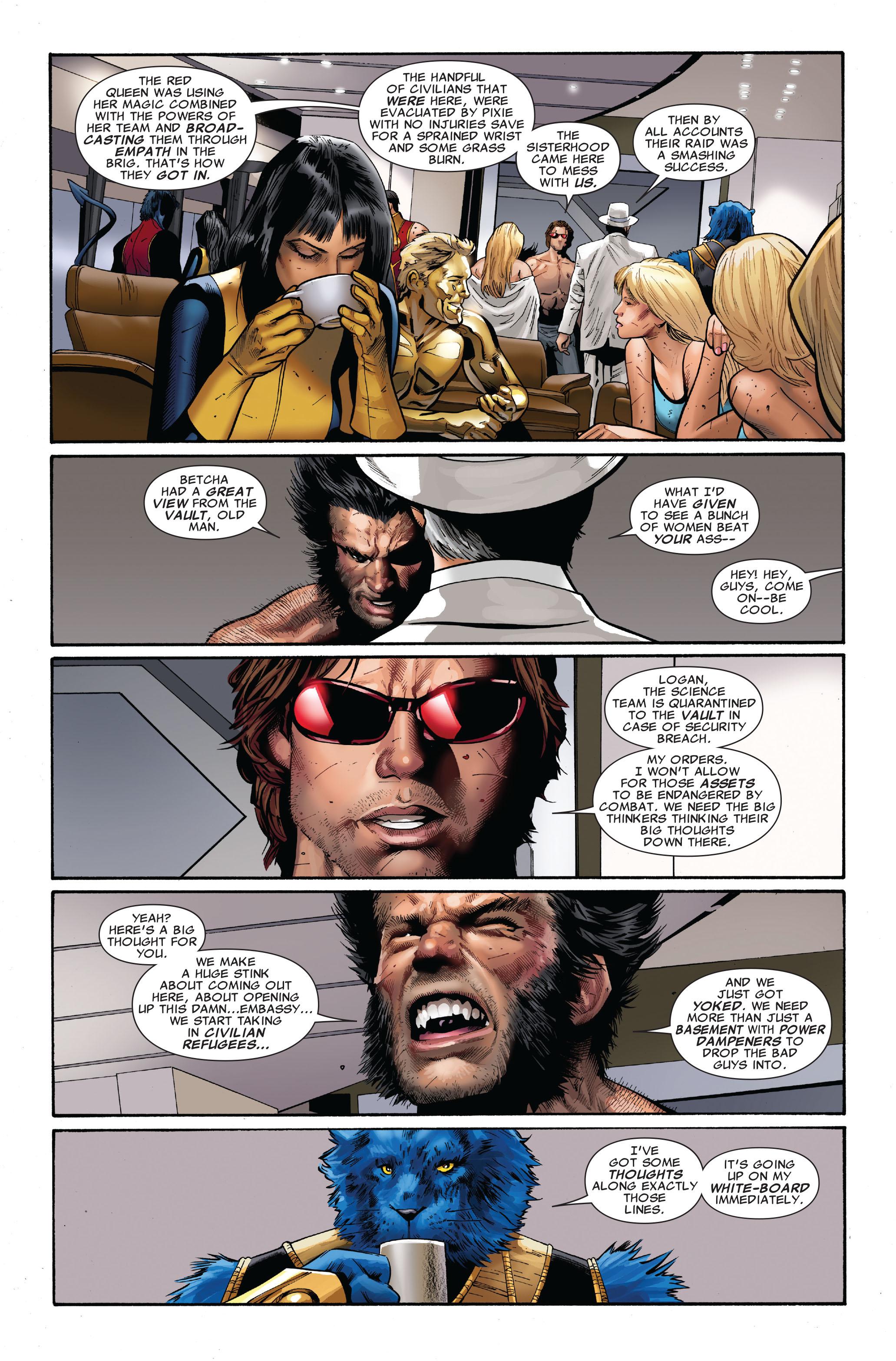 Read online Uncanny X-Men (1963) comic -  Issue #510 - 25