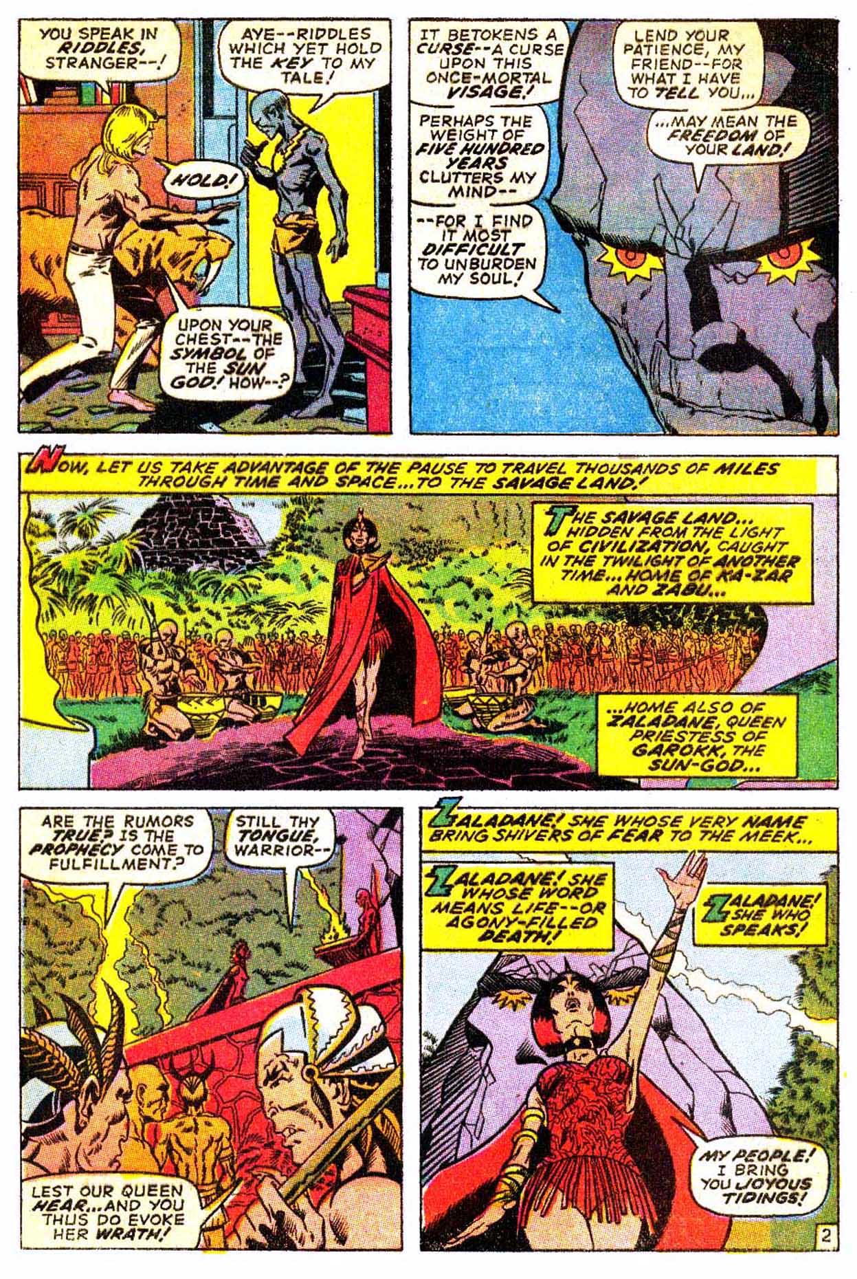 Read online Astonishing Tales (1970) comic -  Issue #3 - 13