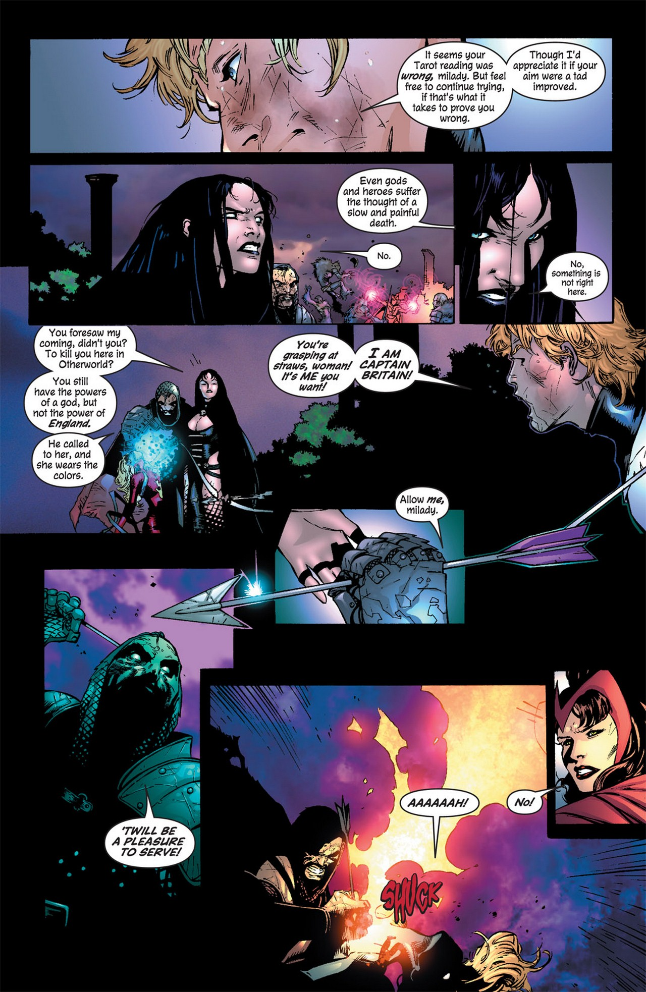 Read online Avengers (1998) comic -  Issue #81 - 10