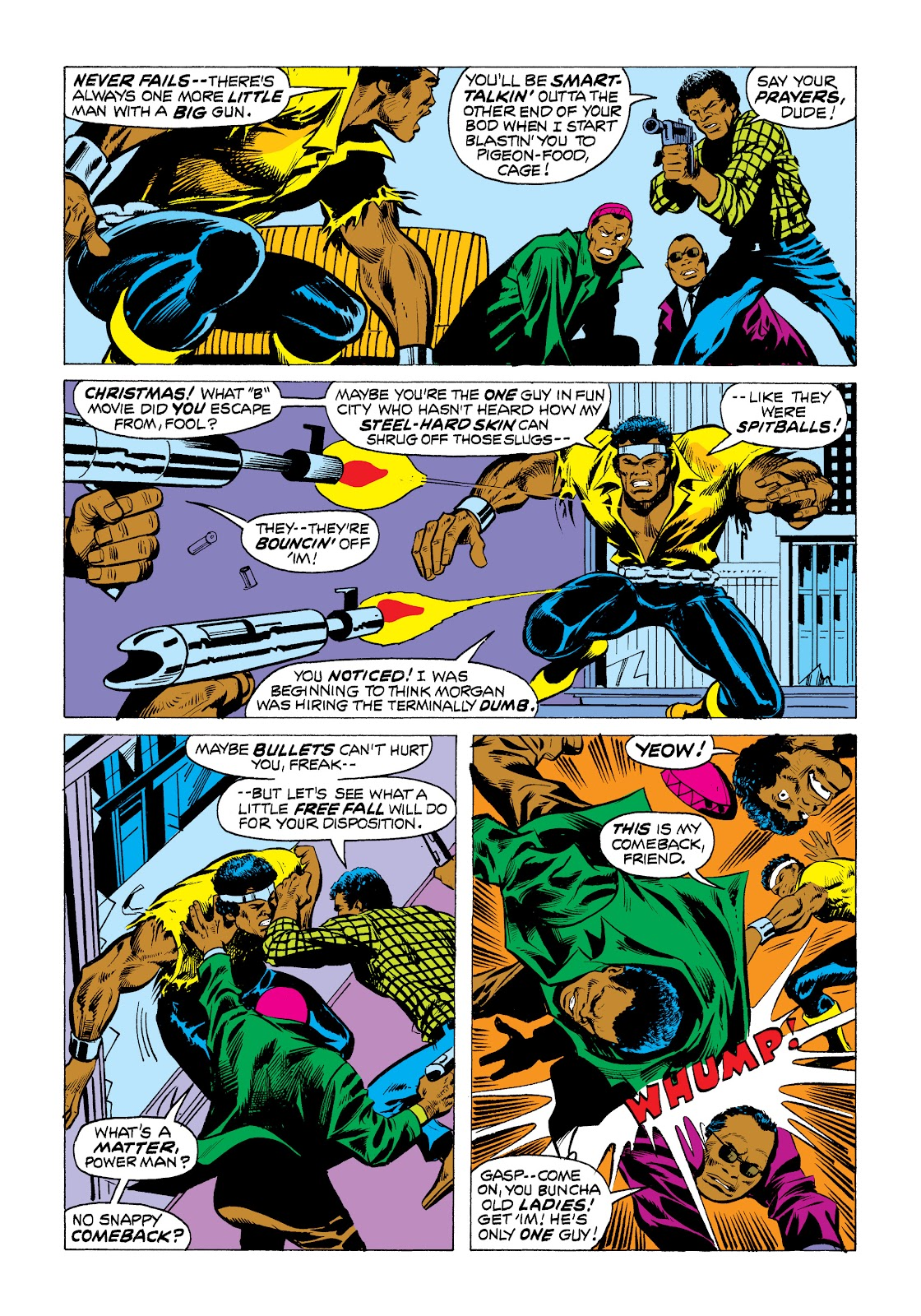 Read online Marvel Masterworks: Luke Cage, Power Man comic -  Issue # TPB 2 (Part 1) - 73