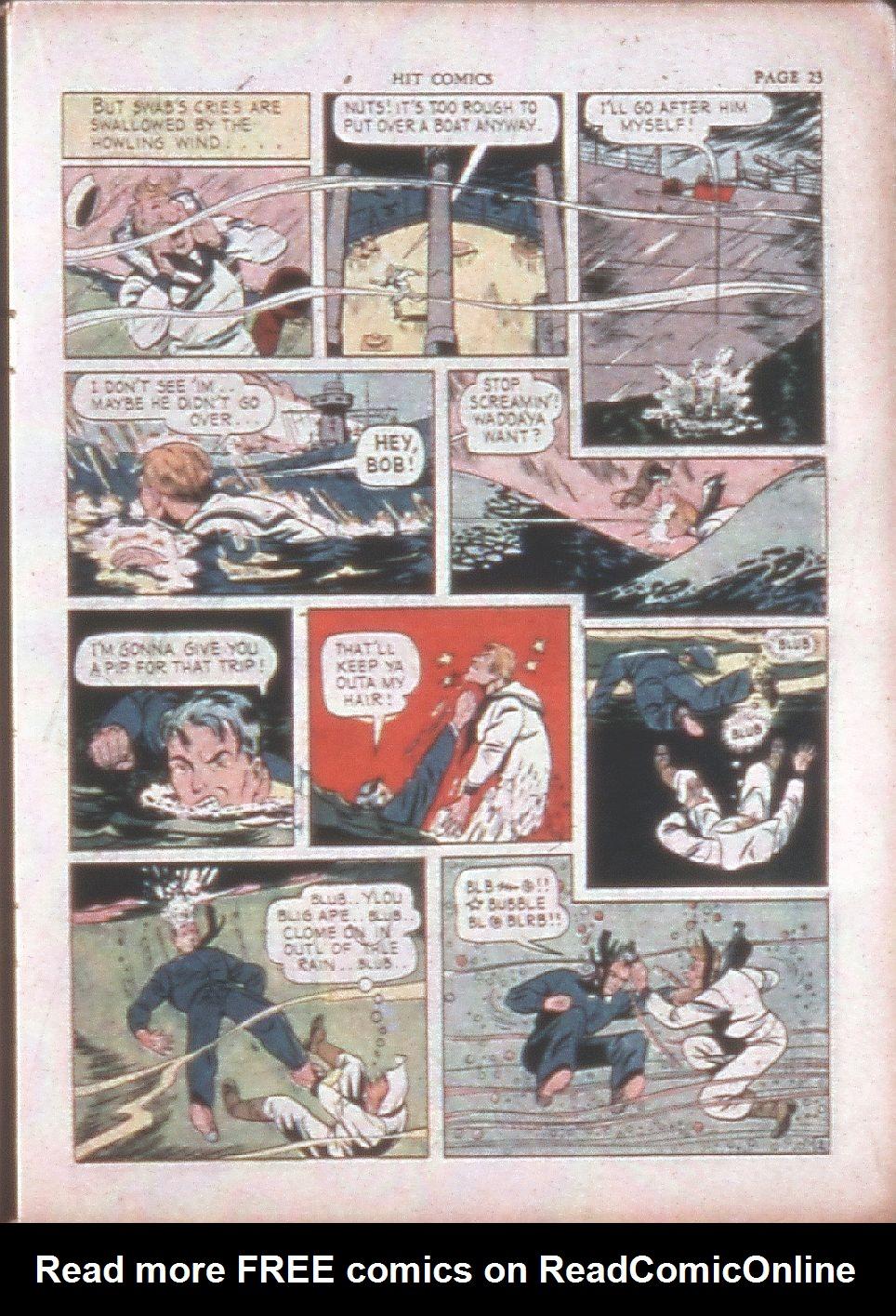Read online Hit Comics comic -  Issue #15 - 25