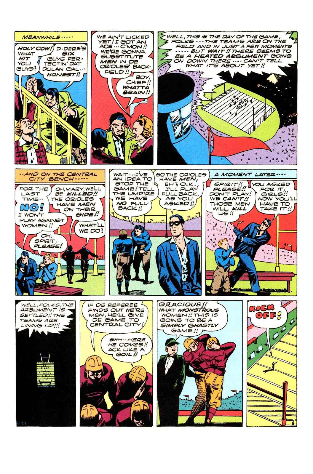 Read online Will Eisner's The Spirit Archives comic -  Issue # TPB 3 (Part 2) - 67