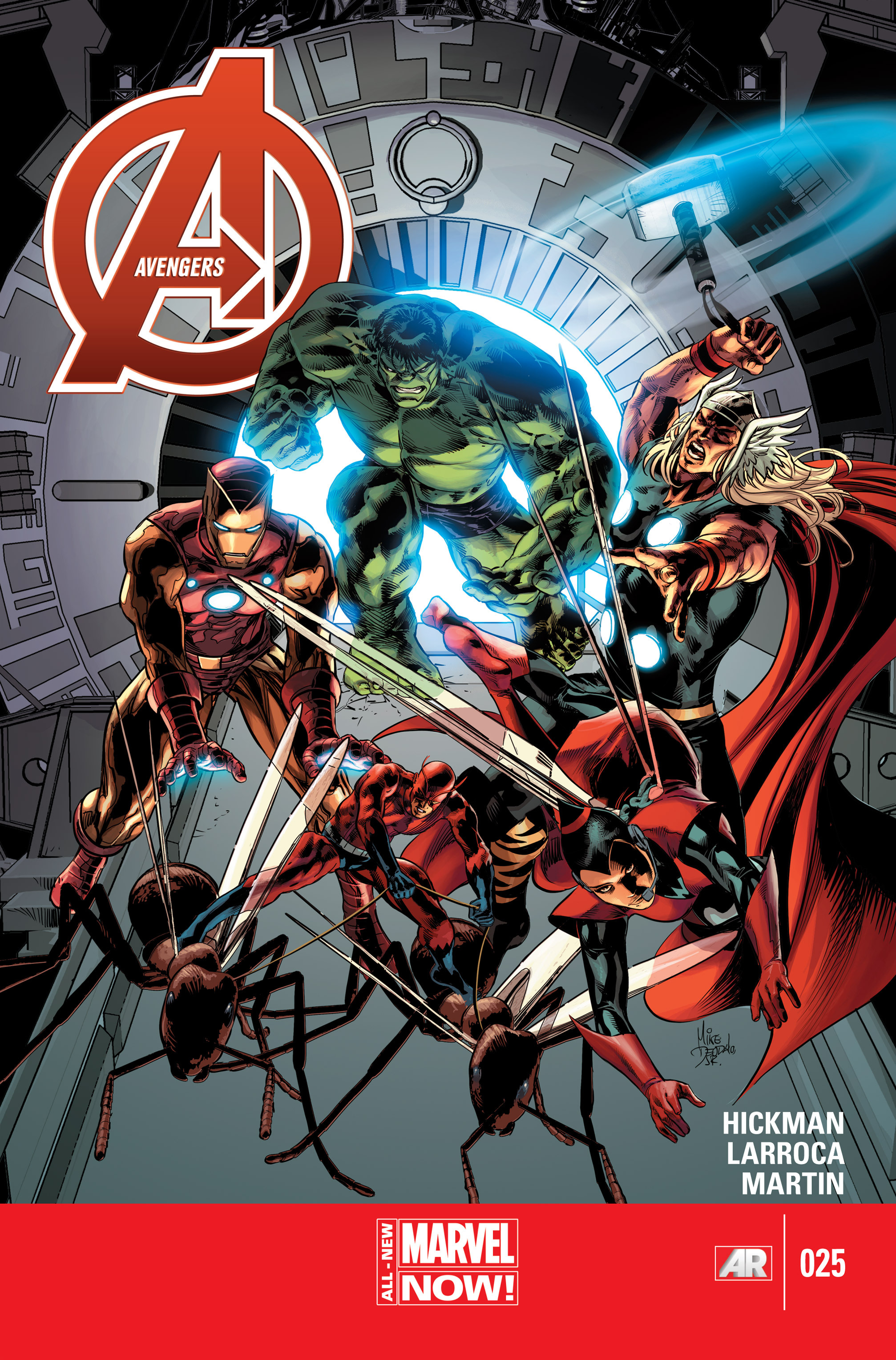 Read online Avengers (2013) comic -  Issue #25 - 1