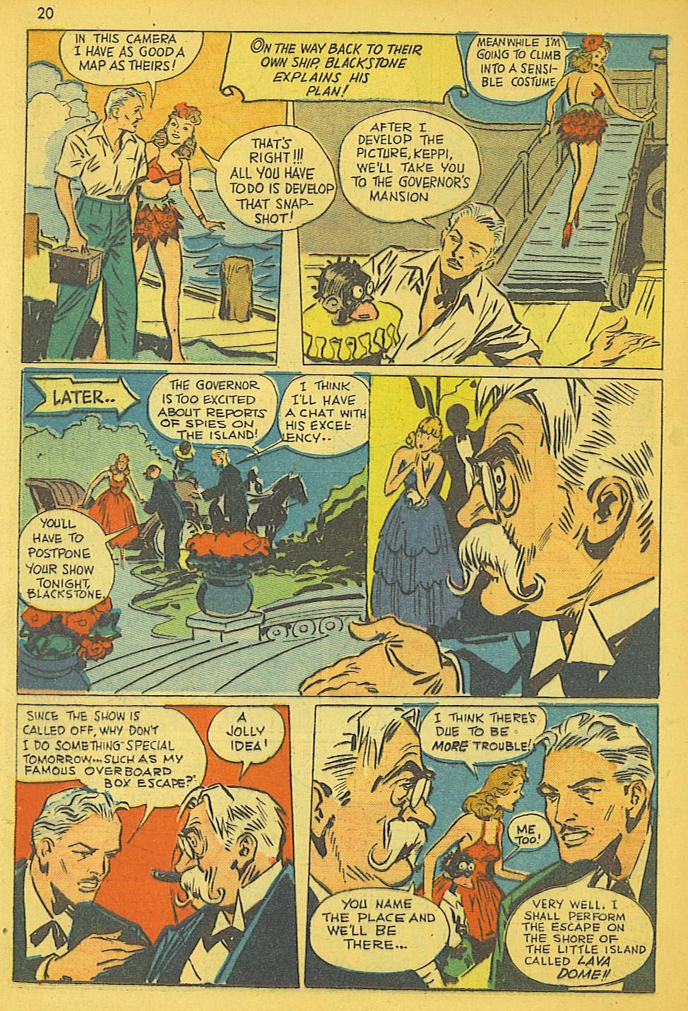 Read online Super-Magician Comics comic -  Issue #19 - 20