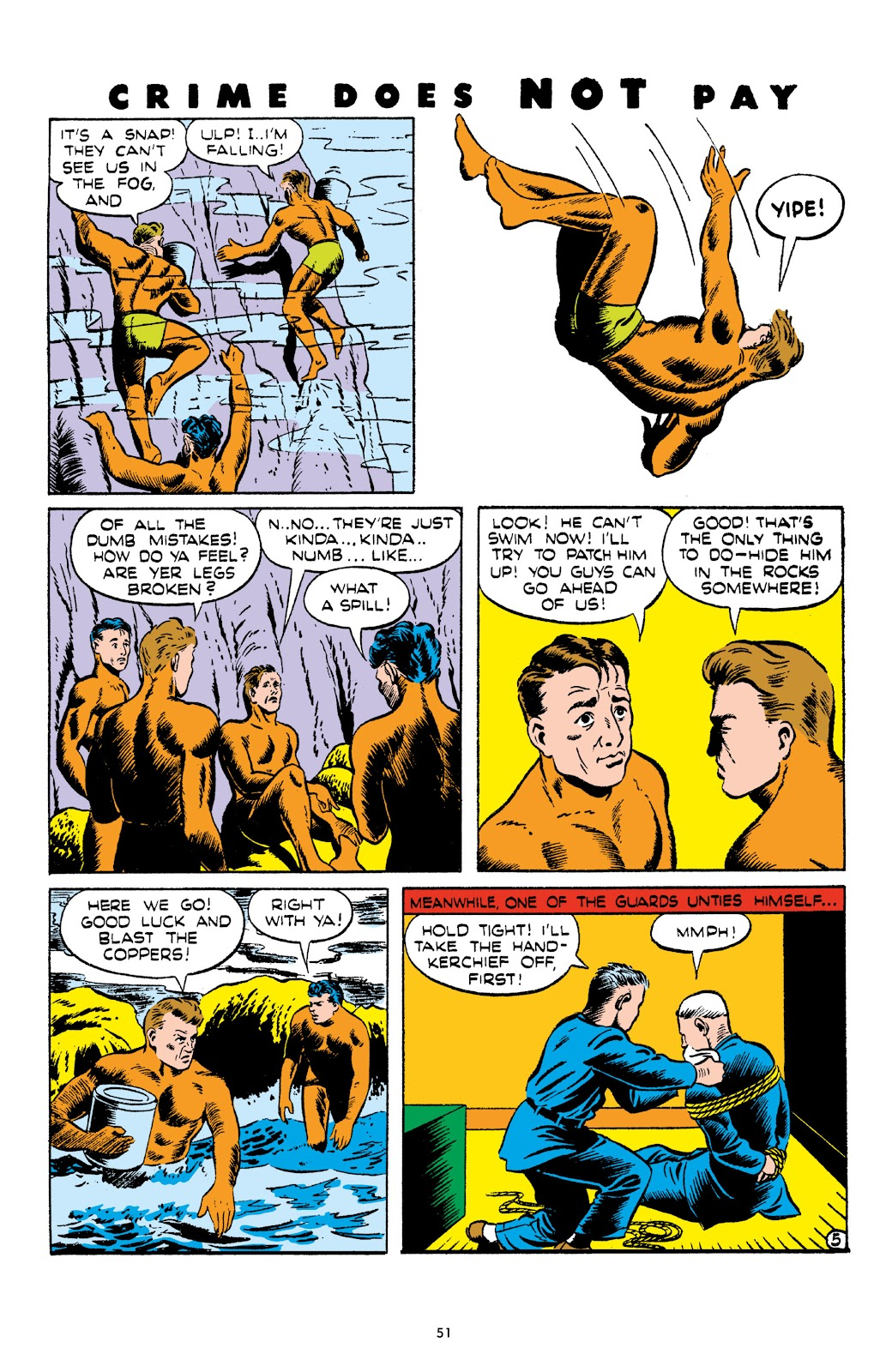 Read online Crime Does Not Pay Archives comic -  Issue # TPB 4 (Part 1) - 51