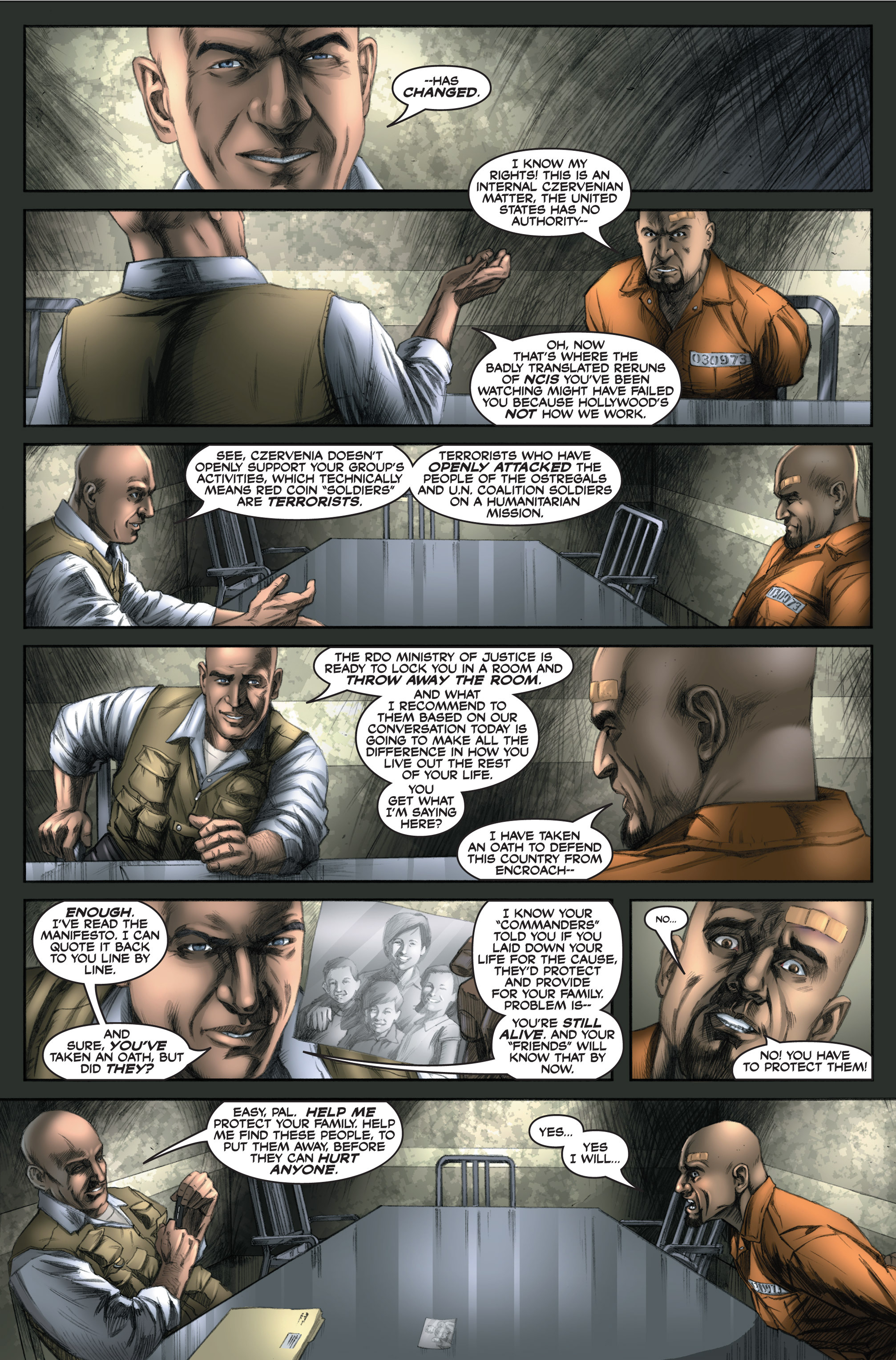 Read online America's Army comic -  Issue #6 - 7