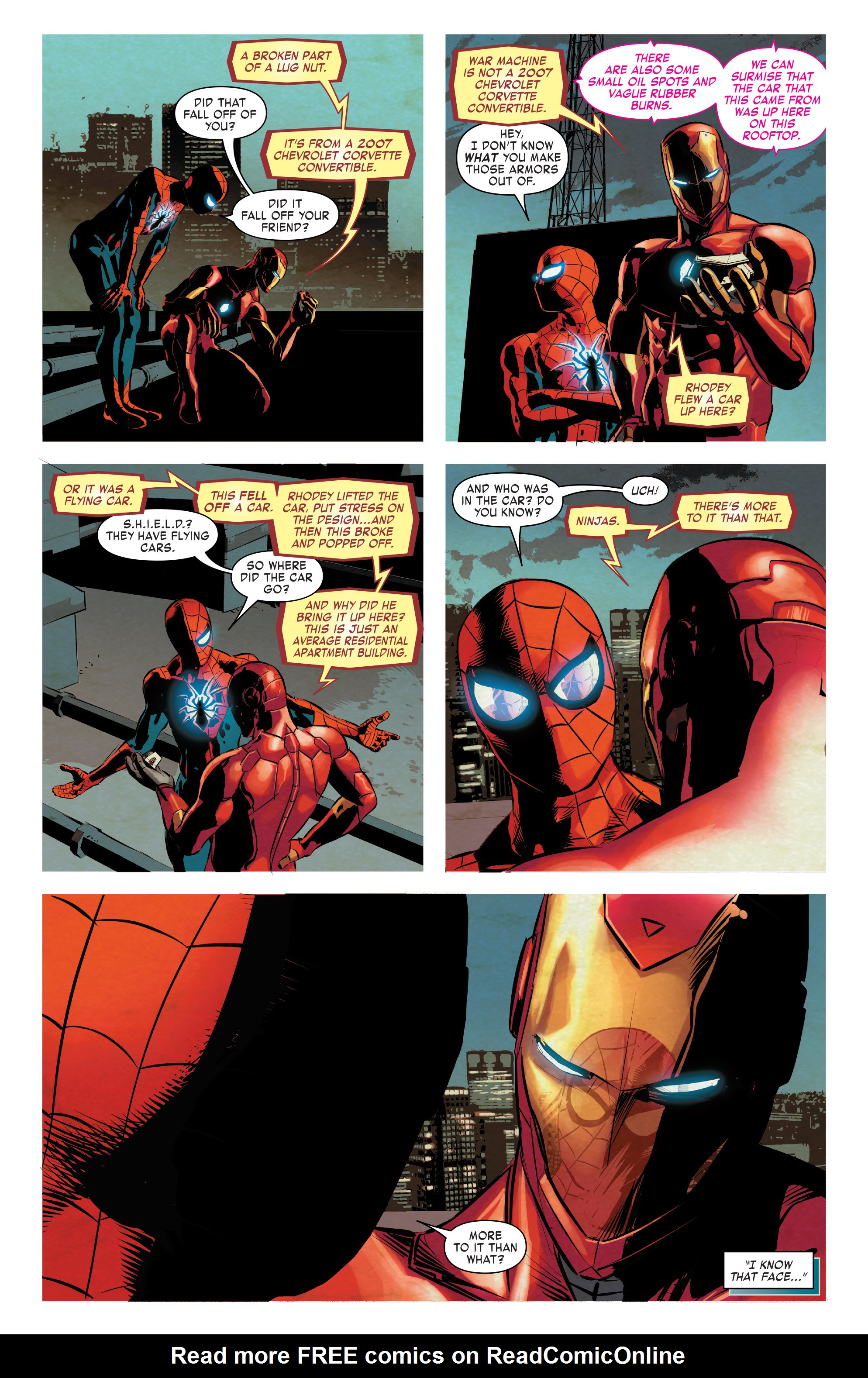 Read online True Believers: Invincible Iron Man-The War Machines comic -  Issue # Full - 50
