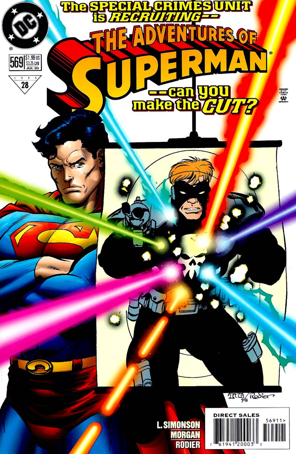 Read online Adventures of Superman (1987) comic -  Issue #569 - 1