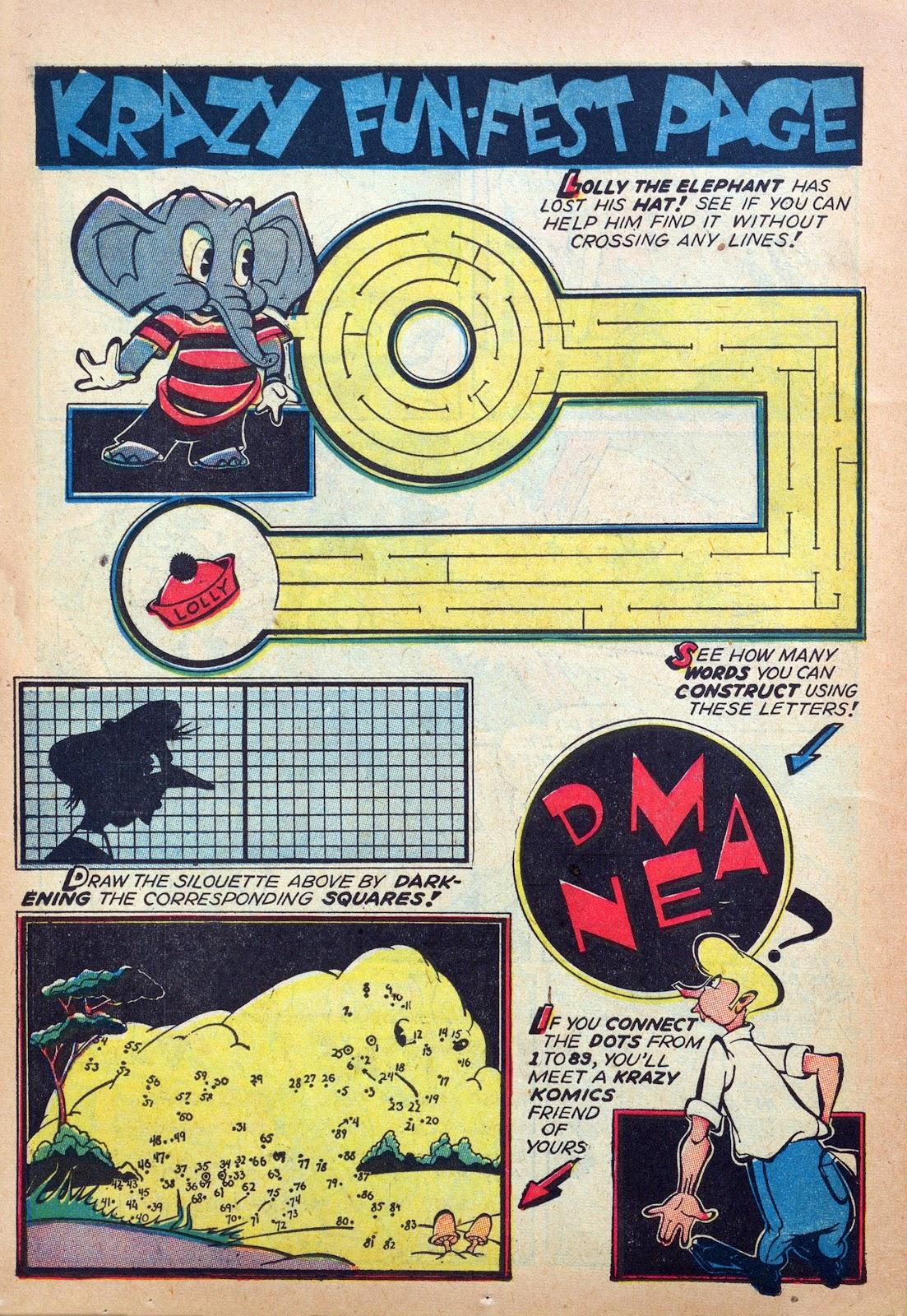 Krazy Komics issue 6 - Page 44