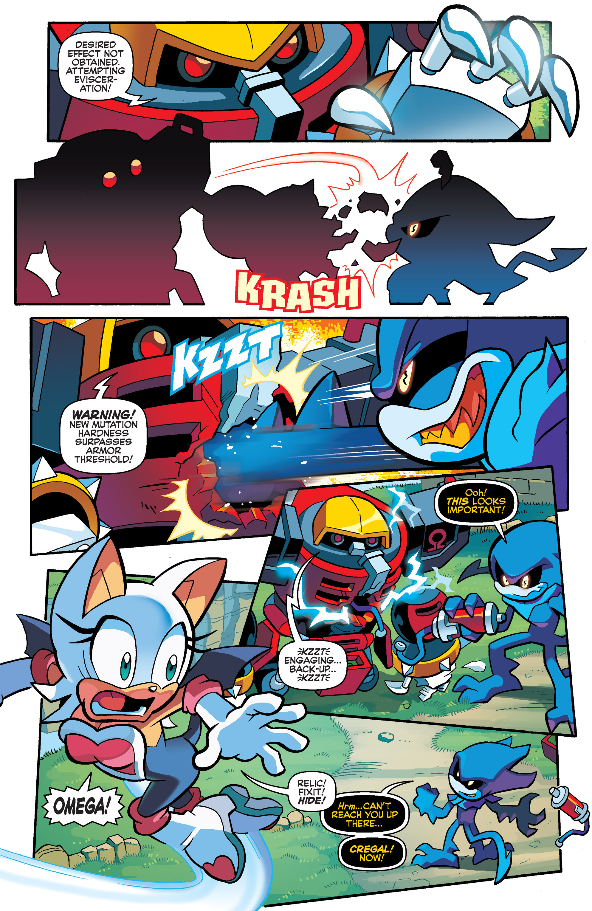 Read online Sonic Universe comic -  Issue #69 - 16