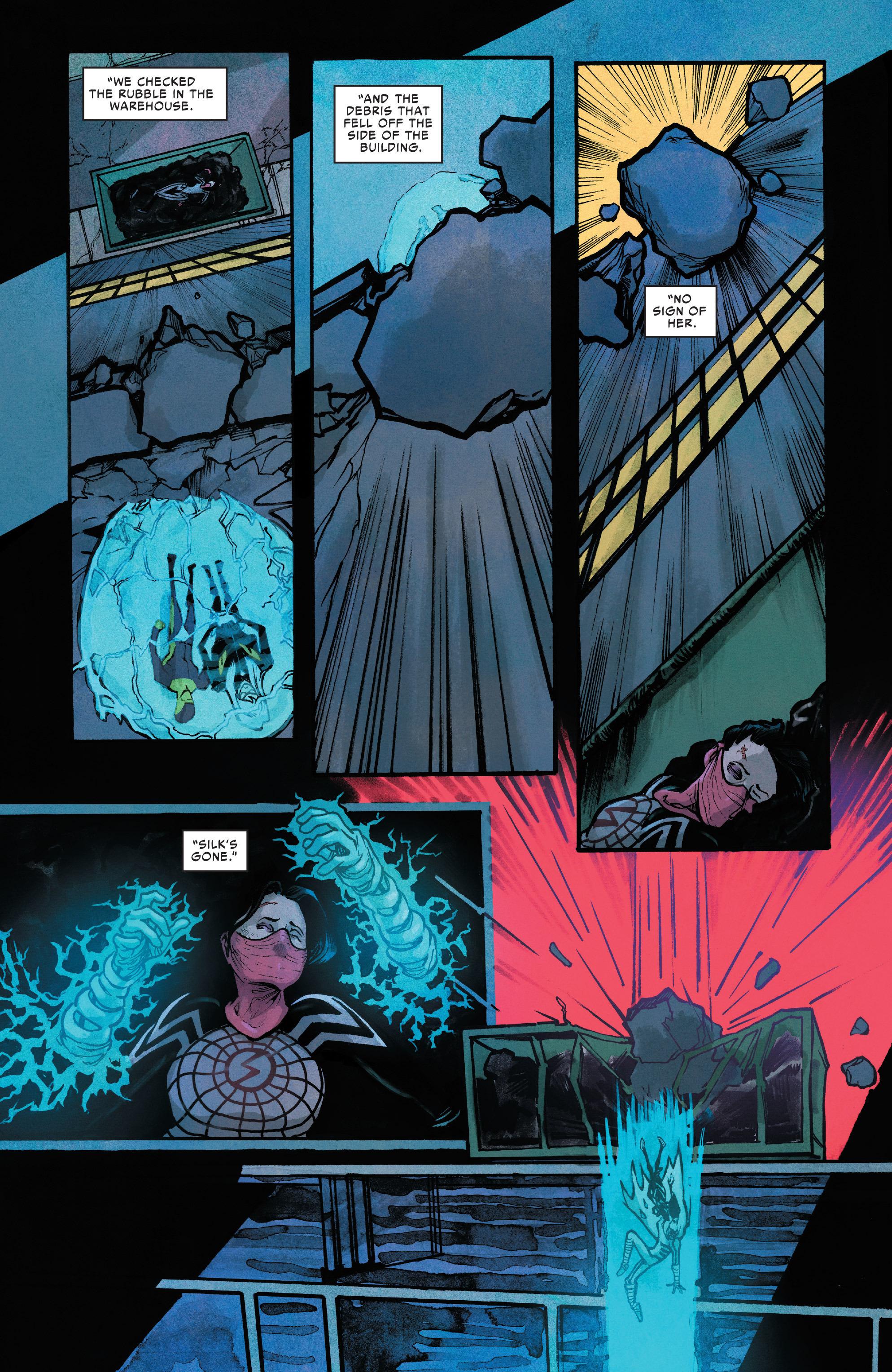 Read online Silk (2016) comic -  Issue #10 - 21